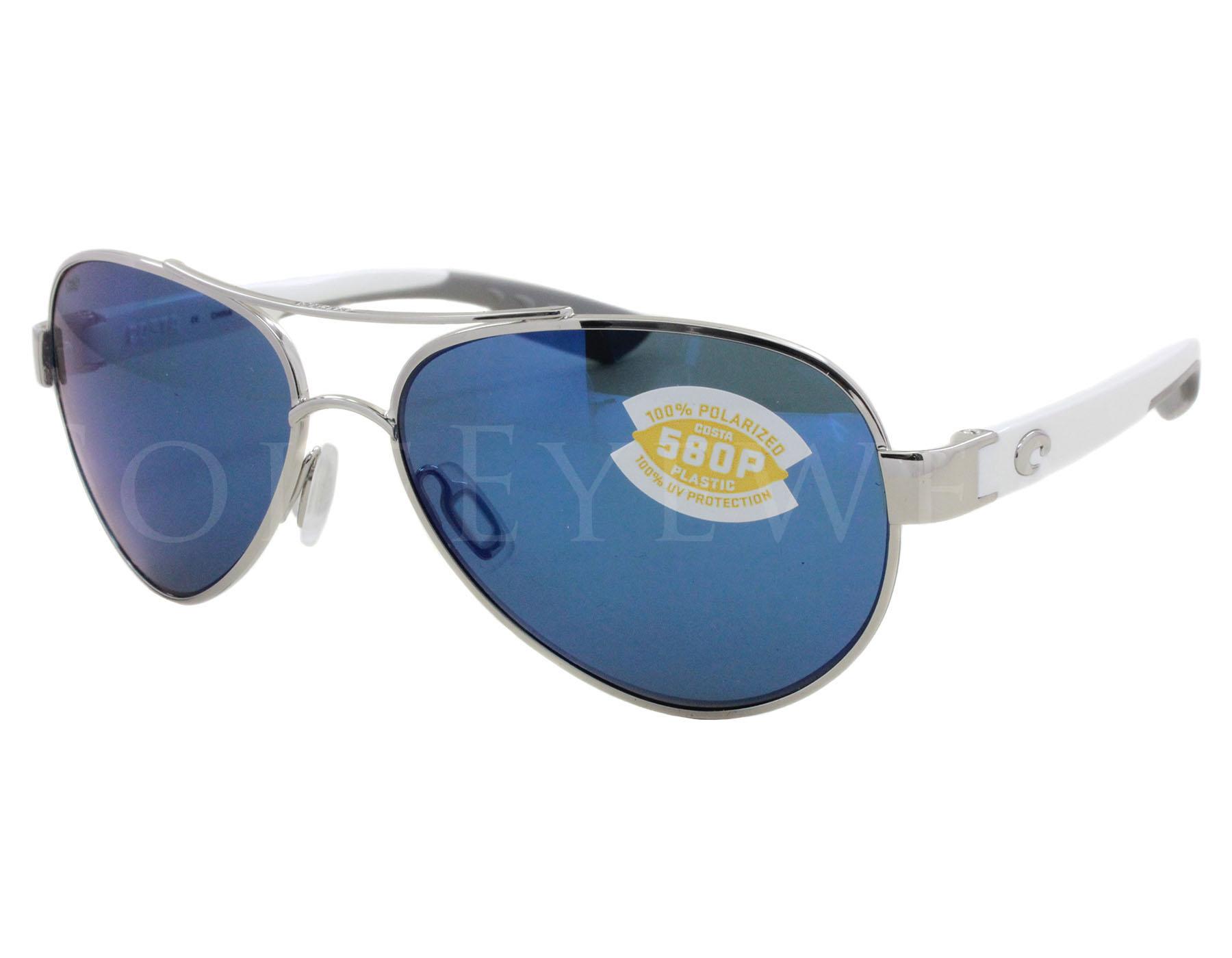 ae78ff4cf0b69 Details about NEW Costa Del Mar Loreto Palladium   Blue LR21 OBMP 580P  Sunglasses
