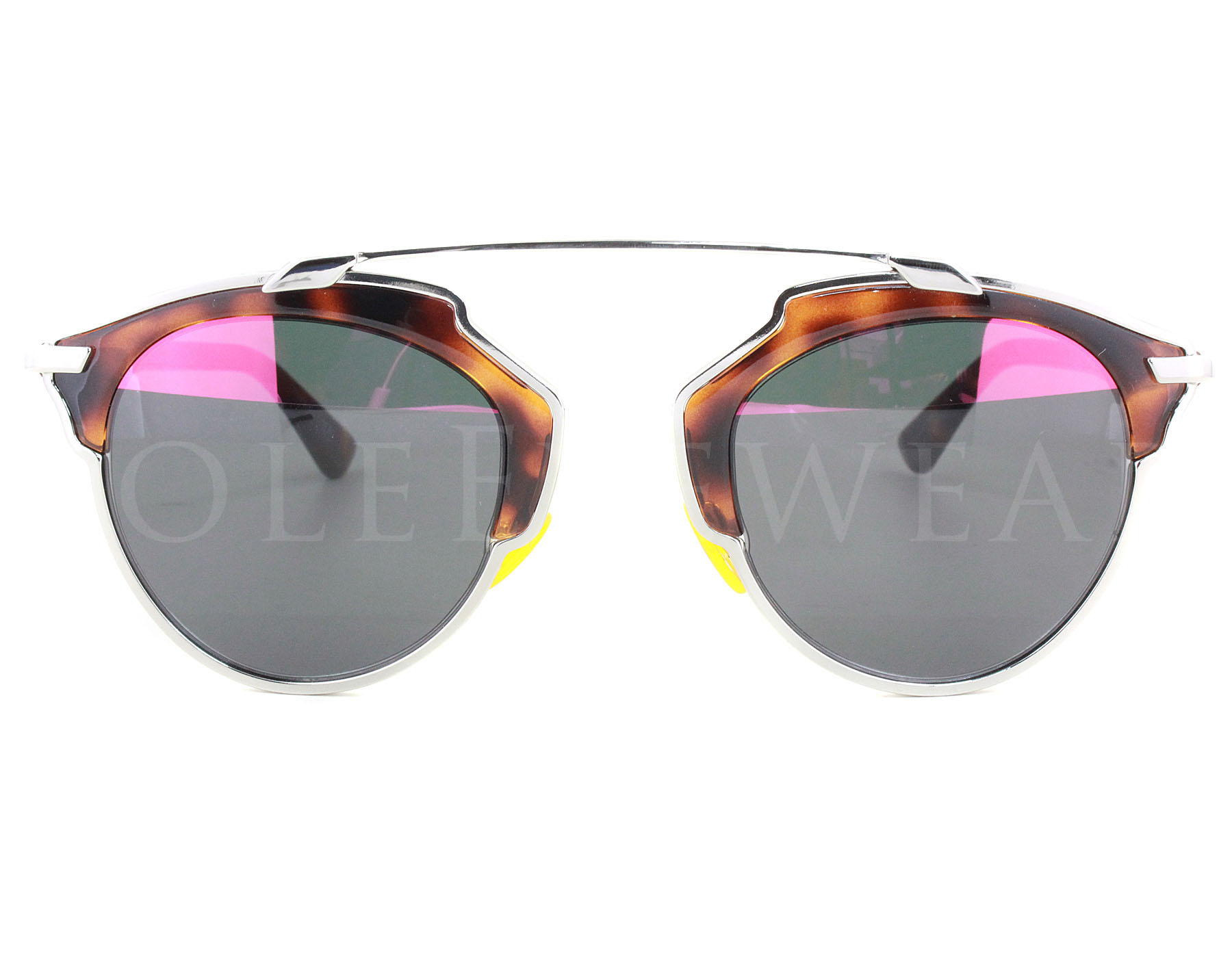 4f9dc5a857f NEW Christian Dior So Real AOOTT Havana Tortoise   Grey Pink Mirror ...