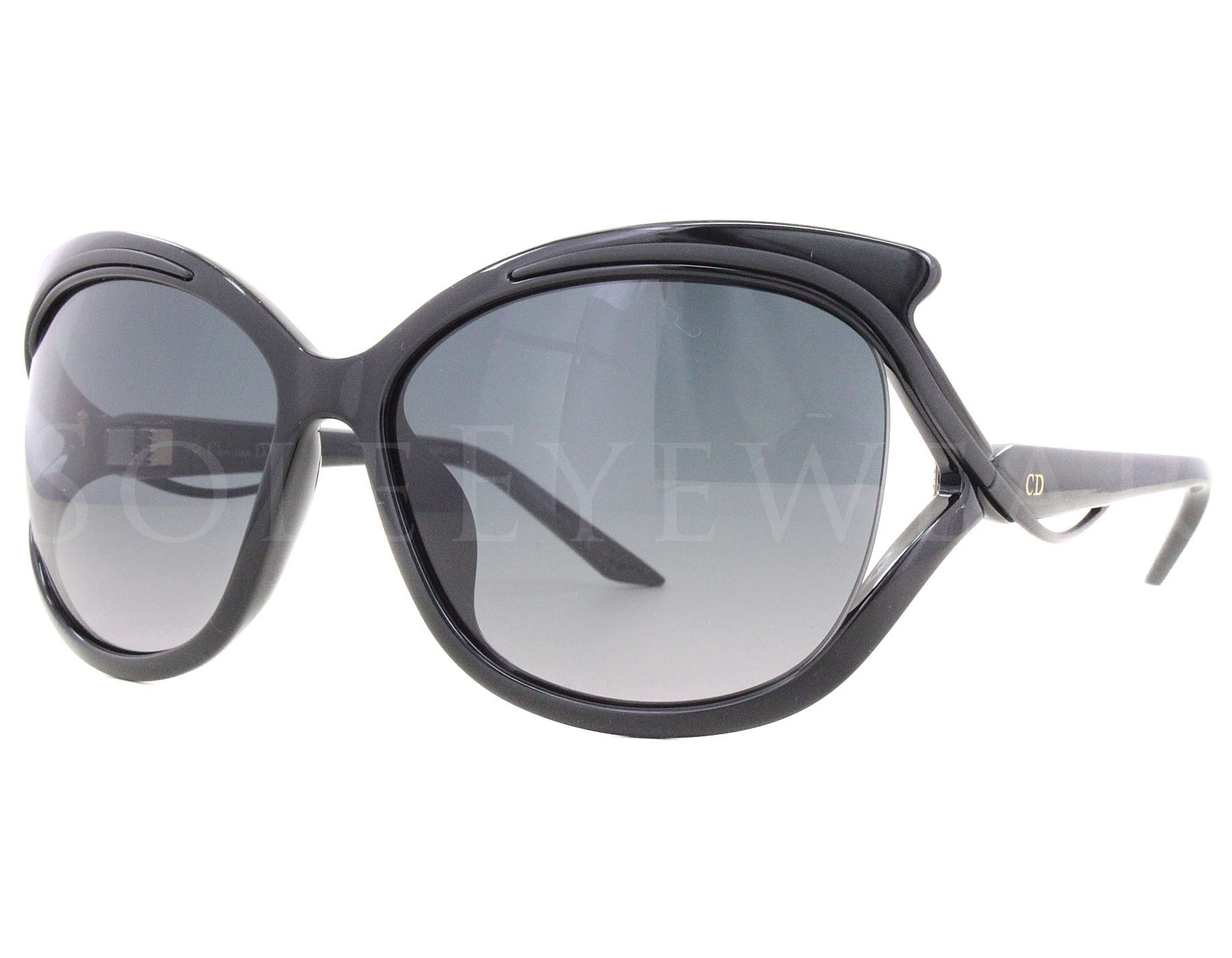 0ce2ee53f8 Details about NEW Christian Dior Audacieuse 2 S 9OKHD 9OK HD Black Grey  Gradient Sunglasses