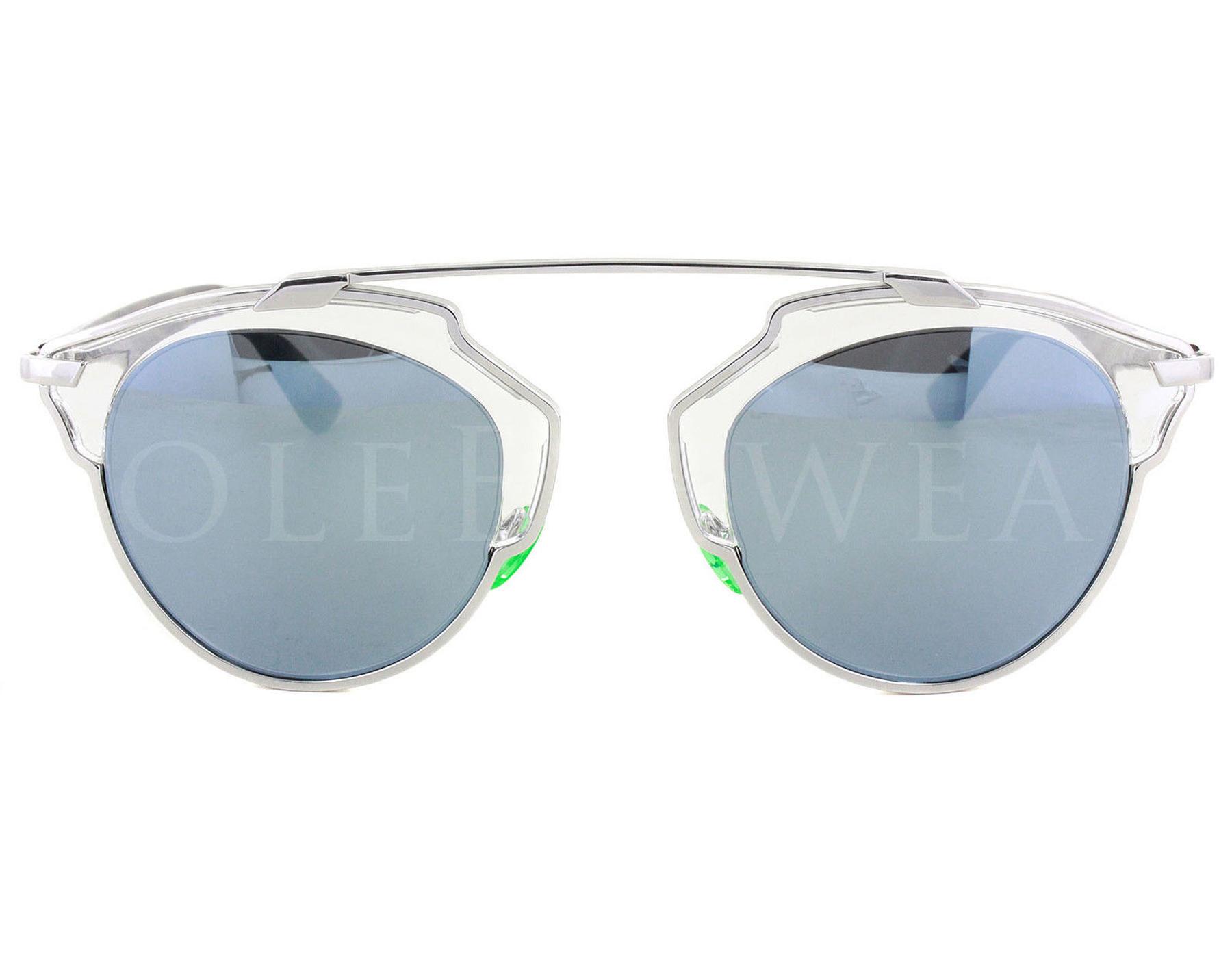 421d61ffe0b7 NEW Christian Dior So Real NSYT7 Palladium Havana   Turquoise Mirror ...