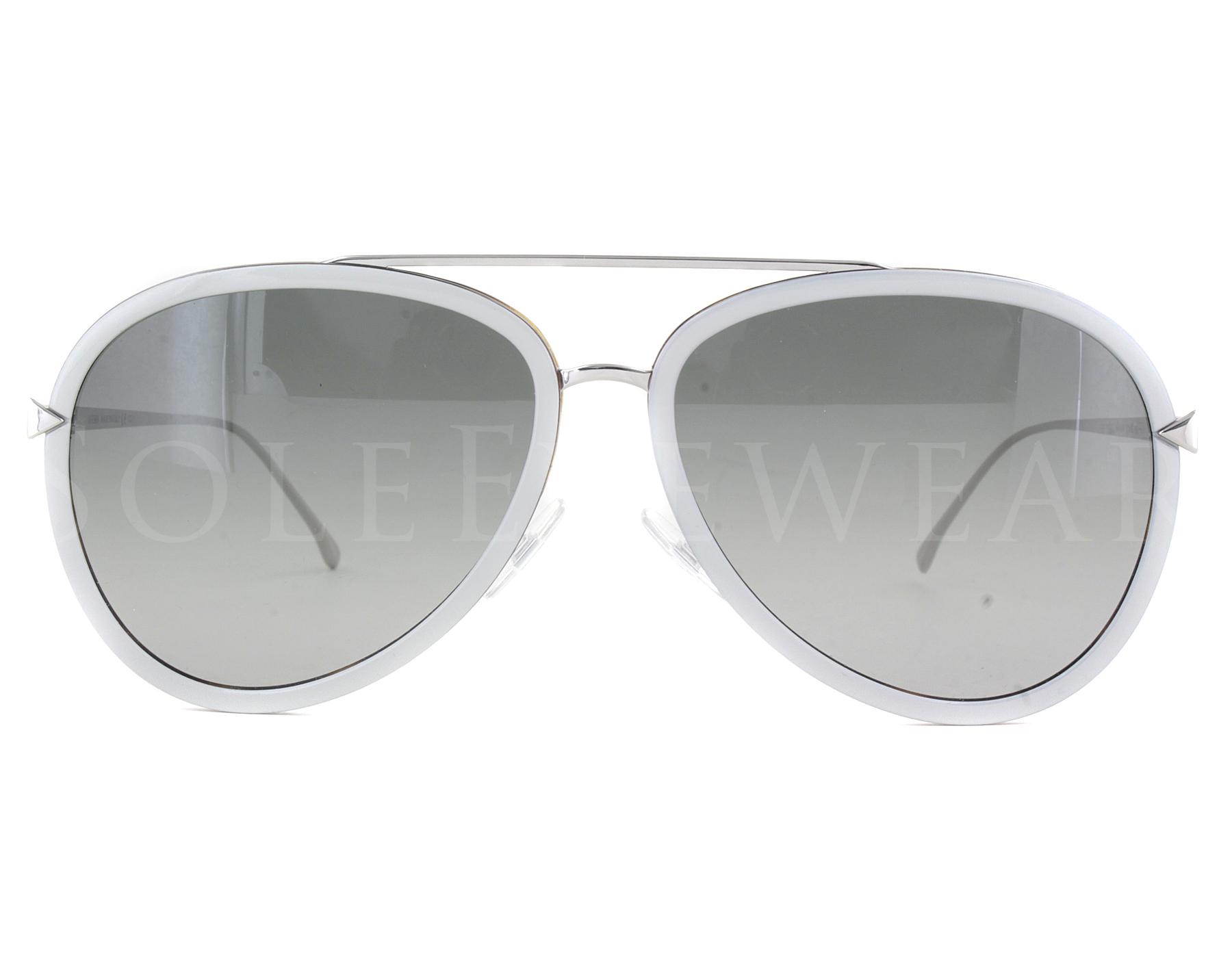 55ccf54c23 Details about uNEW Fendi 0155 S V5AVK Beige Palladium   Grey Gradient  Sunglasses