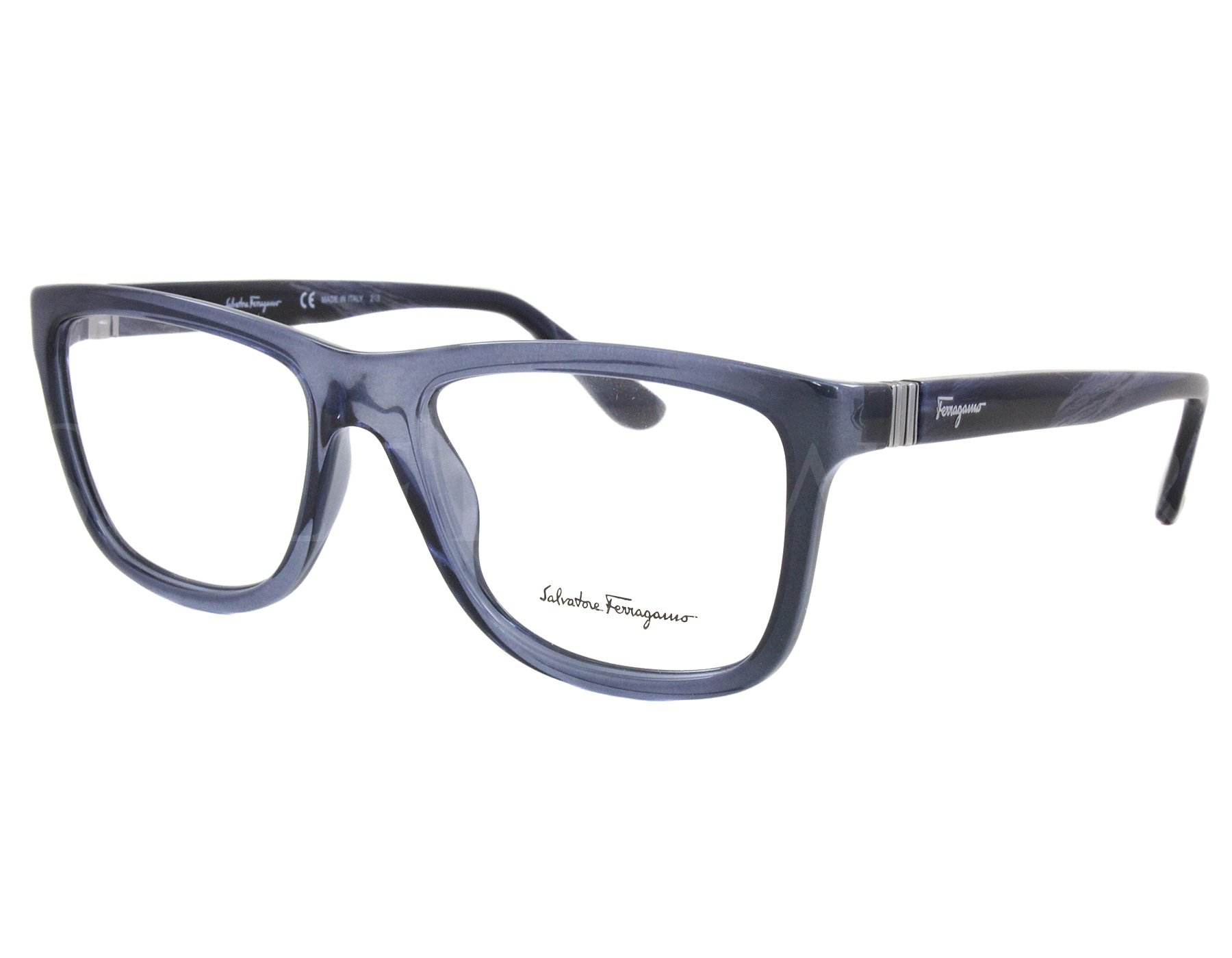 NEW Salvatore Ferragamo SF2694 424 54mm Blue Optical Eyeglasses ...