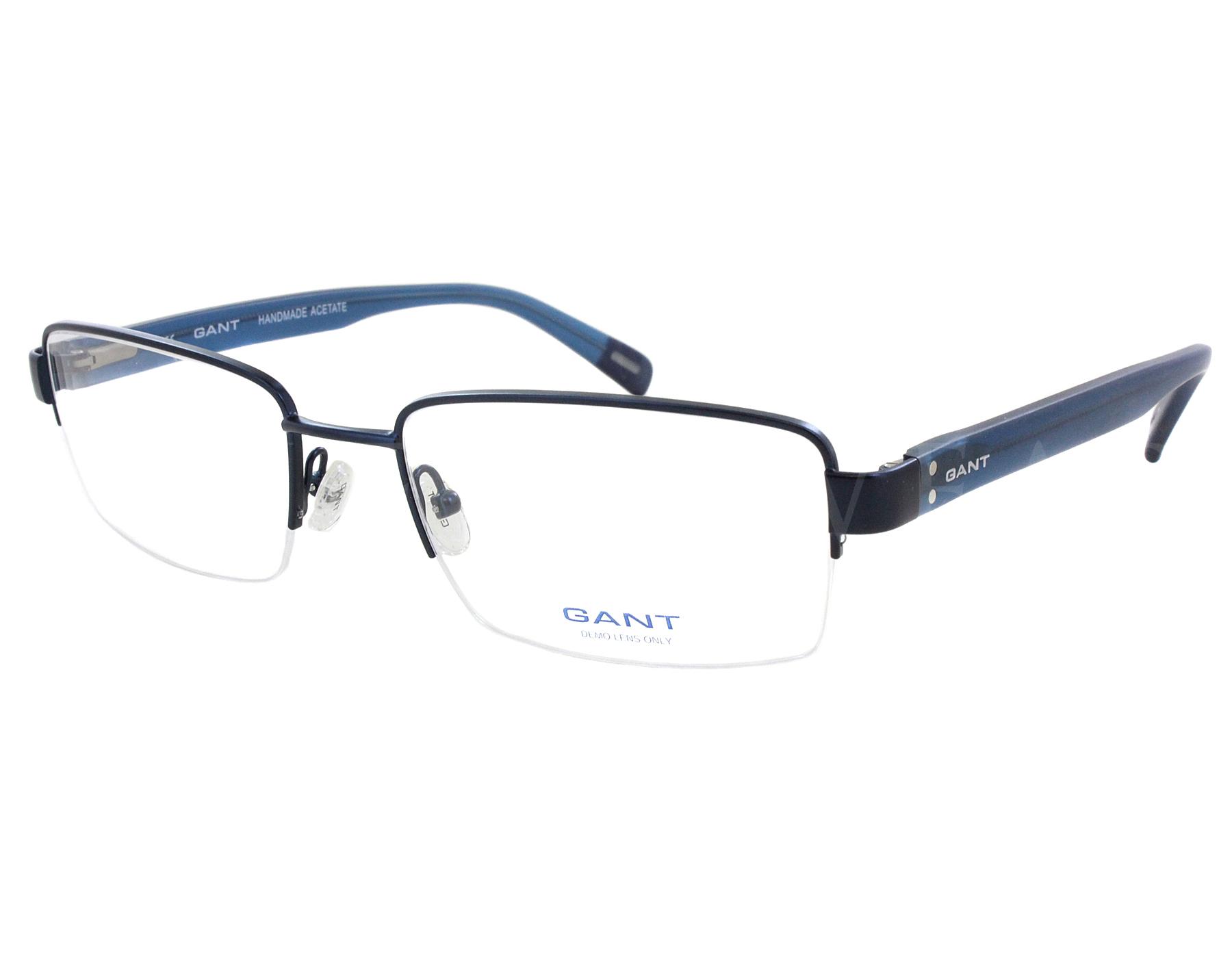 NEW Gant G 3040 R58 57mm Shiny Navy Optical Eyeglasses Frames ...