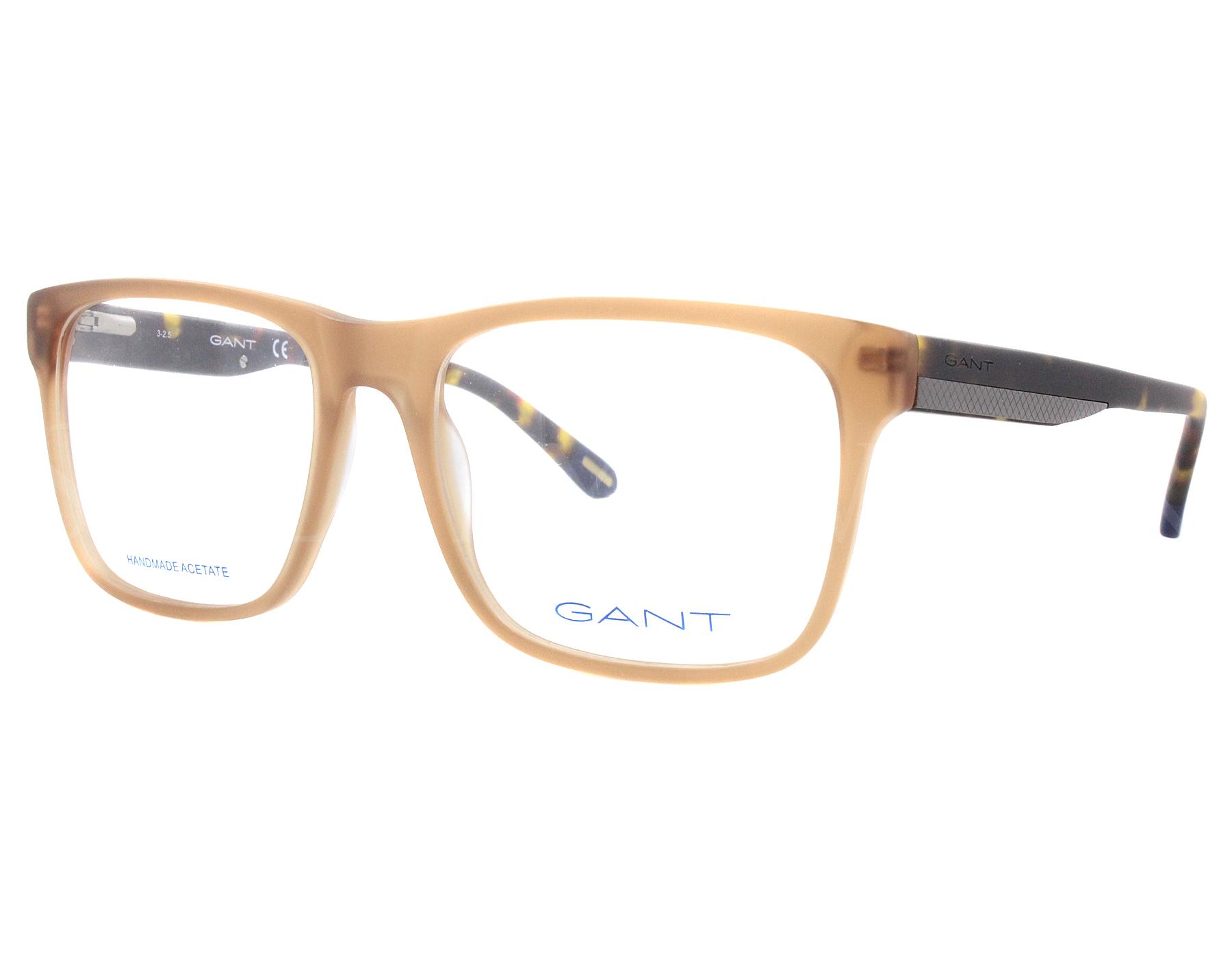 5770be7449a6 Details about NEW Gant GA 3122 046 54mm Light Brown Optical Eyeglasses  Frames