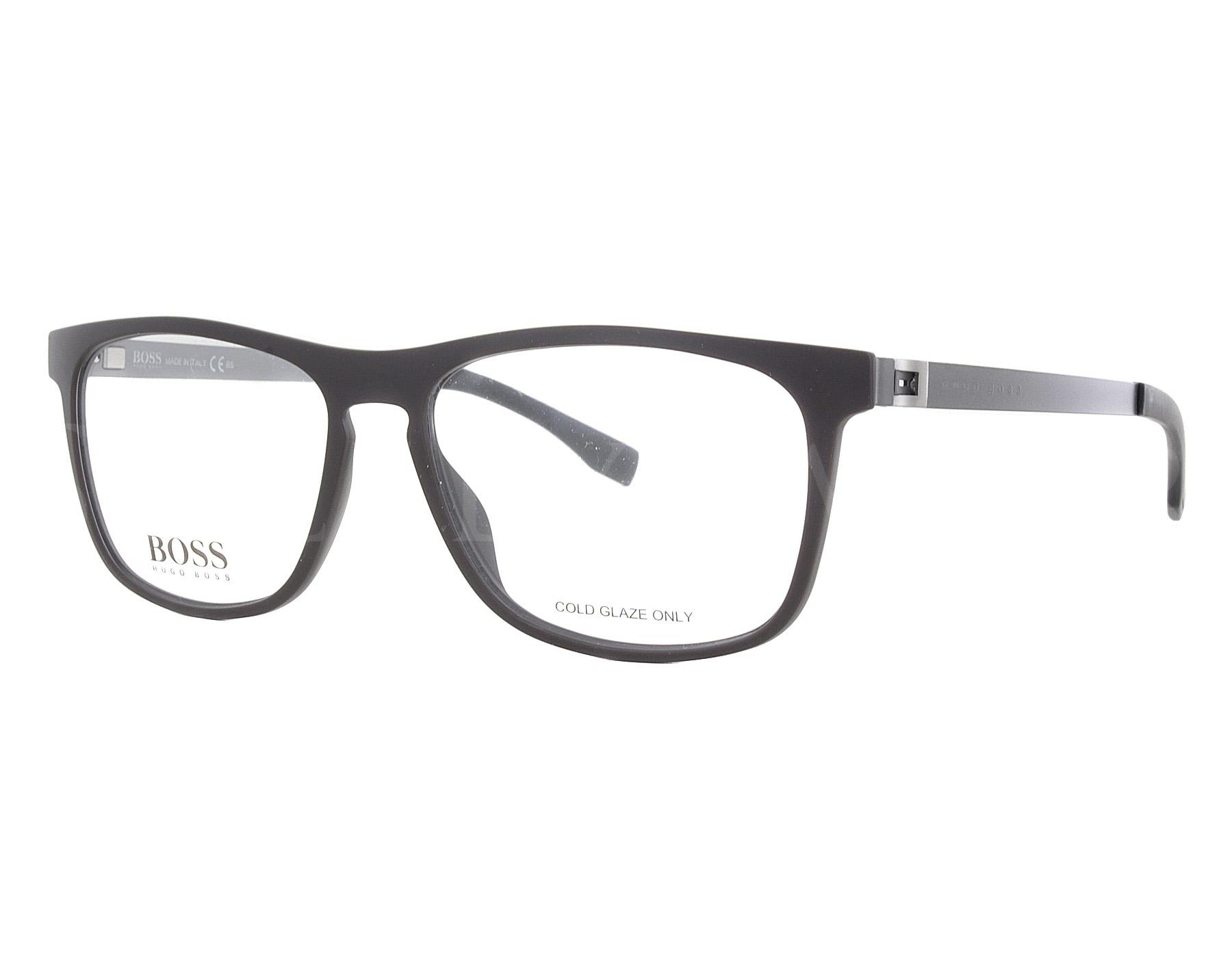 fe82b5b40e Details about NEW Hugo Boss B0840 EXJ15 54mm Brown Ruthenium Optical Eyeglasses  Frames
