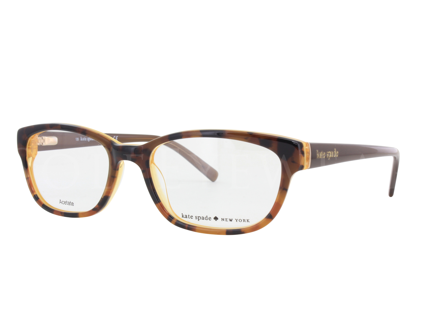 d6dbbb3d14 Details about NEW Kate Spade BLAKELY 0JMD 50mm Tortoise Gold Optical Eyeglasses  Frames