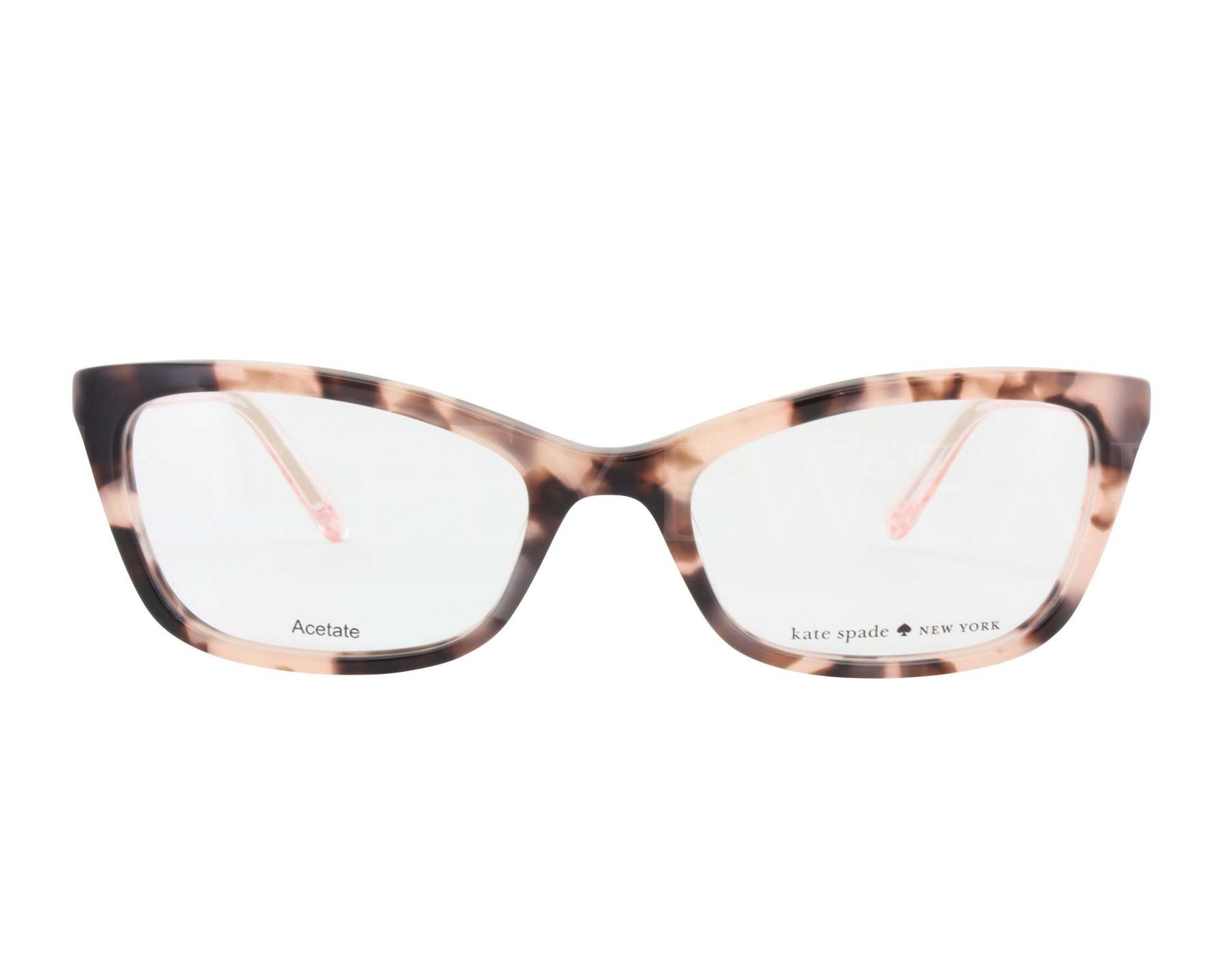 NEW Kate Spade DELACY 0RS3 50mm Havana Rose Optical Eyeglasses ...