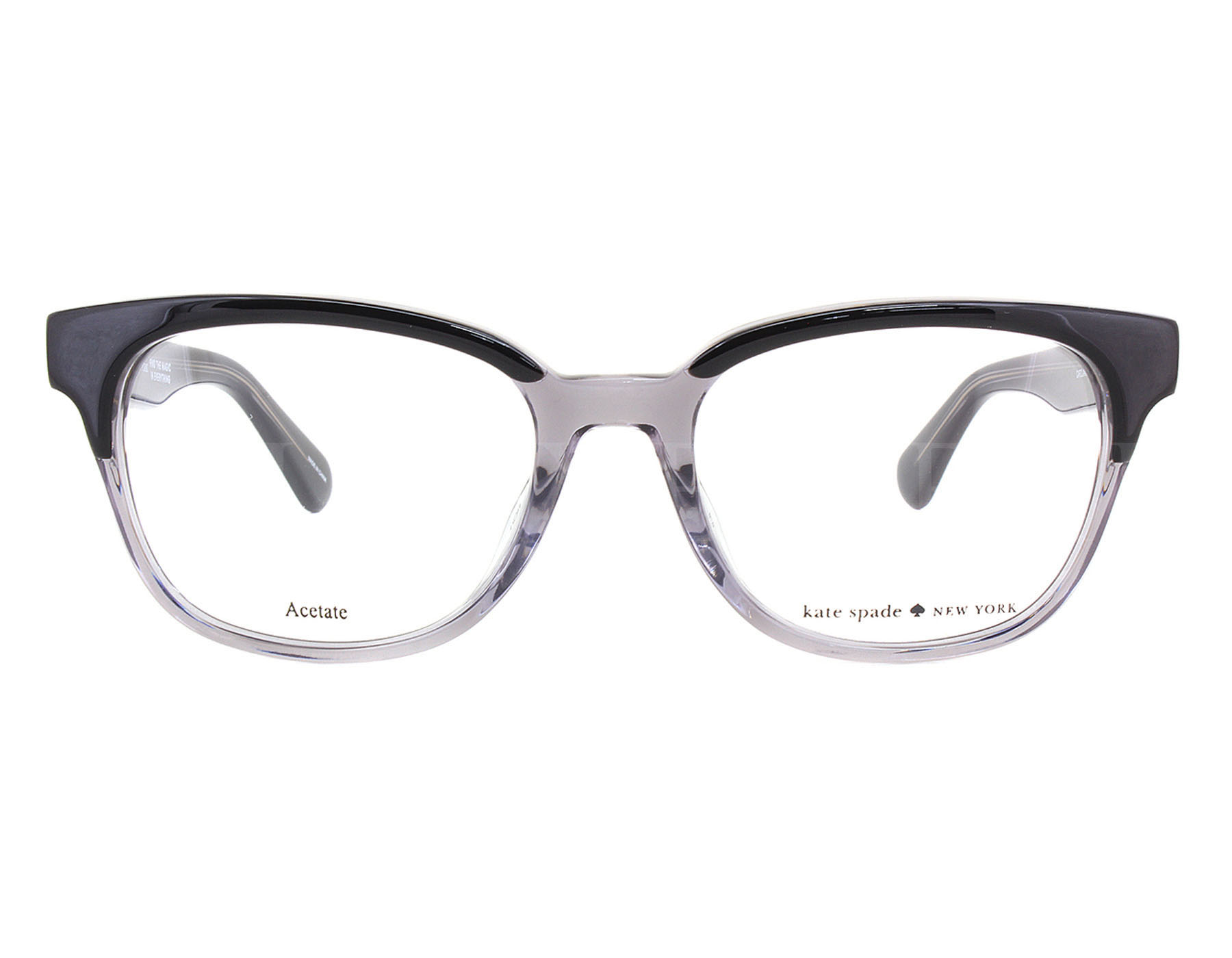 NEW Kate Spade CAROLANNE 008A00 Black Grey Optical Eyeglasses Frames ...