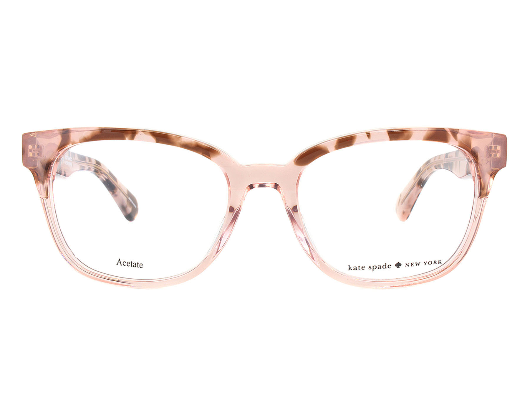 NEW Kate Spade CAROLANNE 0HT800 Pink Havana Optical Eyeglasses ...
