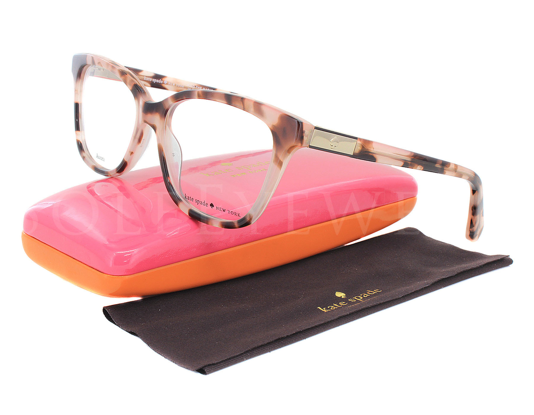 Details About New Kate Spade Jorja 0ht800 Havana Pink Optical Eyeglasses Frames All Products Sold By Us Are Factory Fresh With Original Designer Cases Documentation And Packaging As Provided The Manufacturer