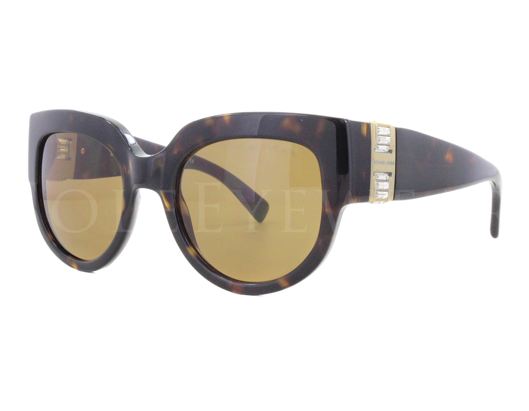 eacbfbe2f8 Details about NEW Michael Kors MK2003B 300673 2003 Villefranche Tortoise  Brown Sunglasses