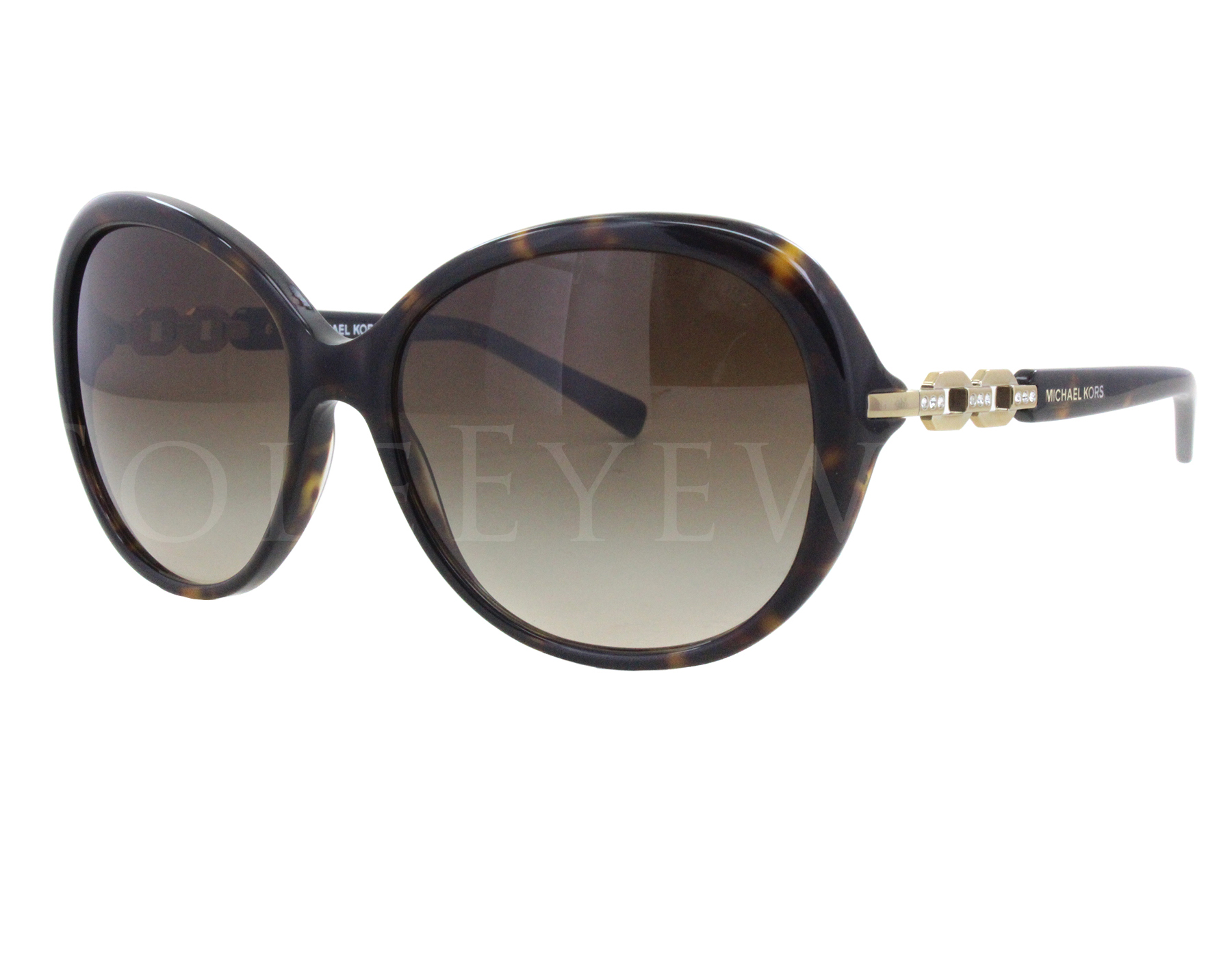 28234d1ada Details about NEW Michael Kors MK2008B 300613 Andorra Tortoise Brown  Gradient Sunglasses