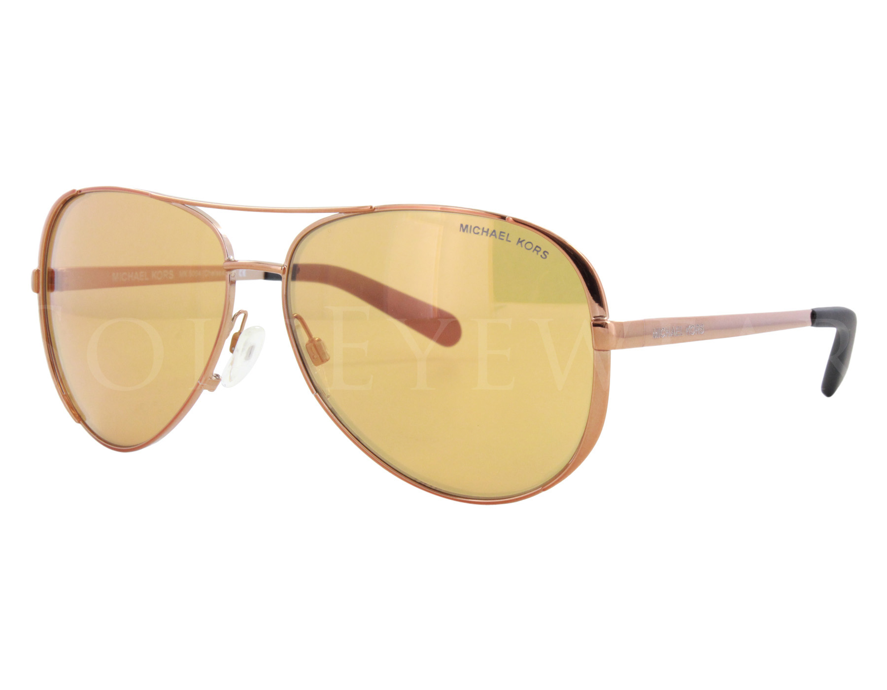 Details about NEW Michael Kors MK5004 10915N Chelsea Copper   Gold Mirror  Sunglasses 6a24386755