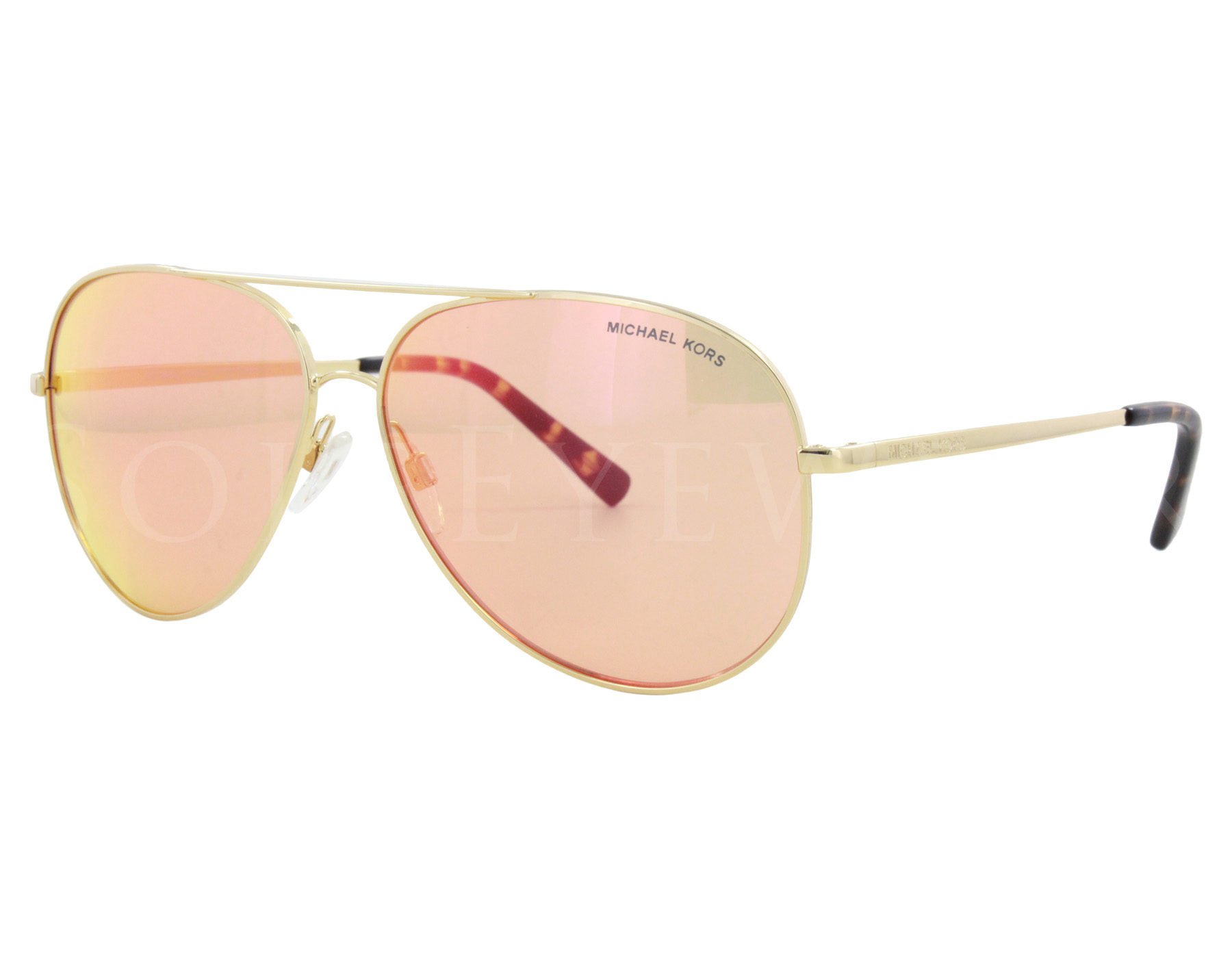 9a42bf4c8a980 Details about NEW Michael Kors MK5016 1024F6 Kendall I Gold   Orange Flash  Sunglasses