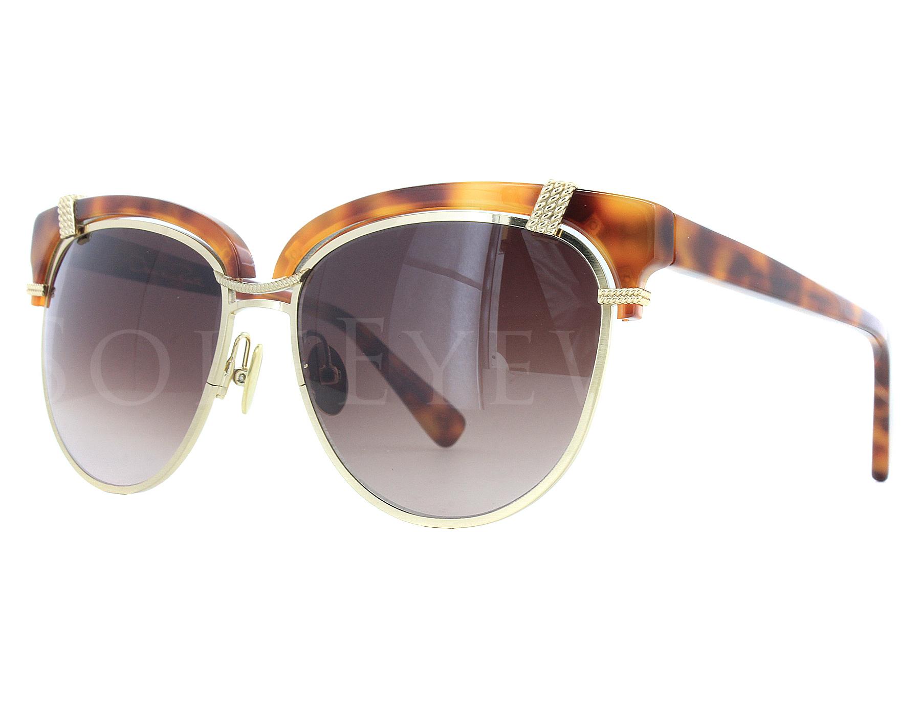 174de8ecaa Details about NEW Oscar De La Renta ODLRS 224 239 Tortoise   Brown Gradient  Sunglasses