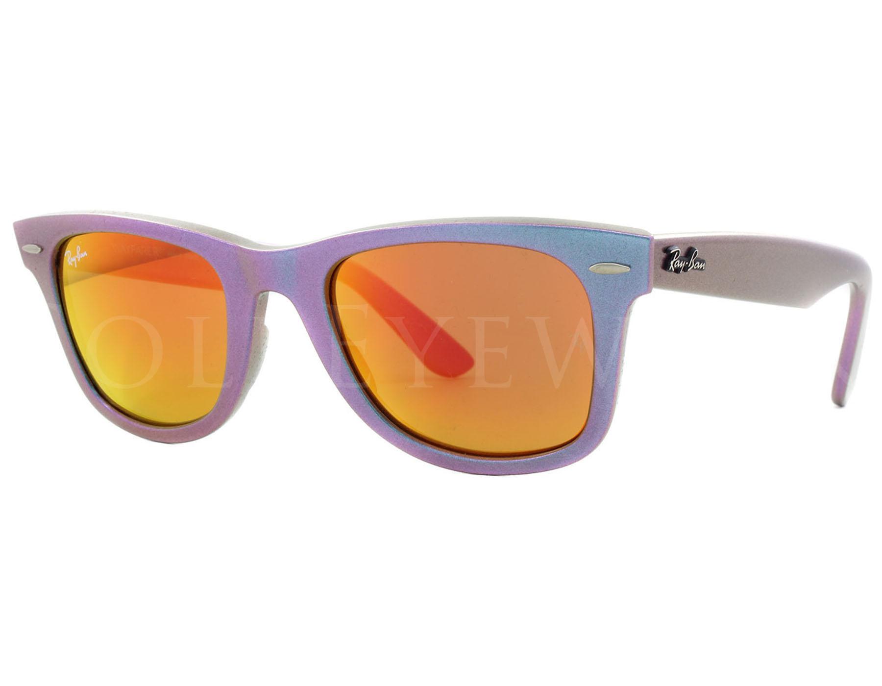 7ef0e1b5734d Details about NEW Ray Ban 2140 6111 69 50mm Original Wayfarer Pearl Grn  Pple Petrol Sunglasses