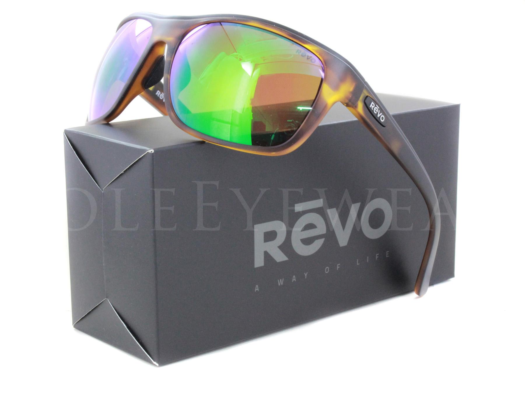 66e0fdf292 Details about NEW Revo 1023 02 GN Remus Matte Tortoise   Green Water  Sunglasses