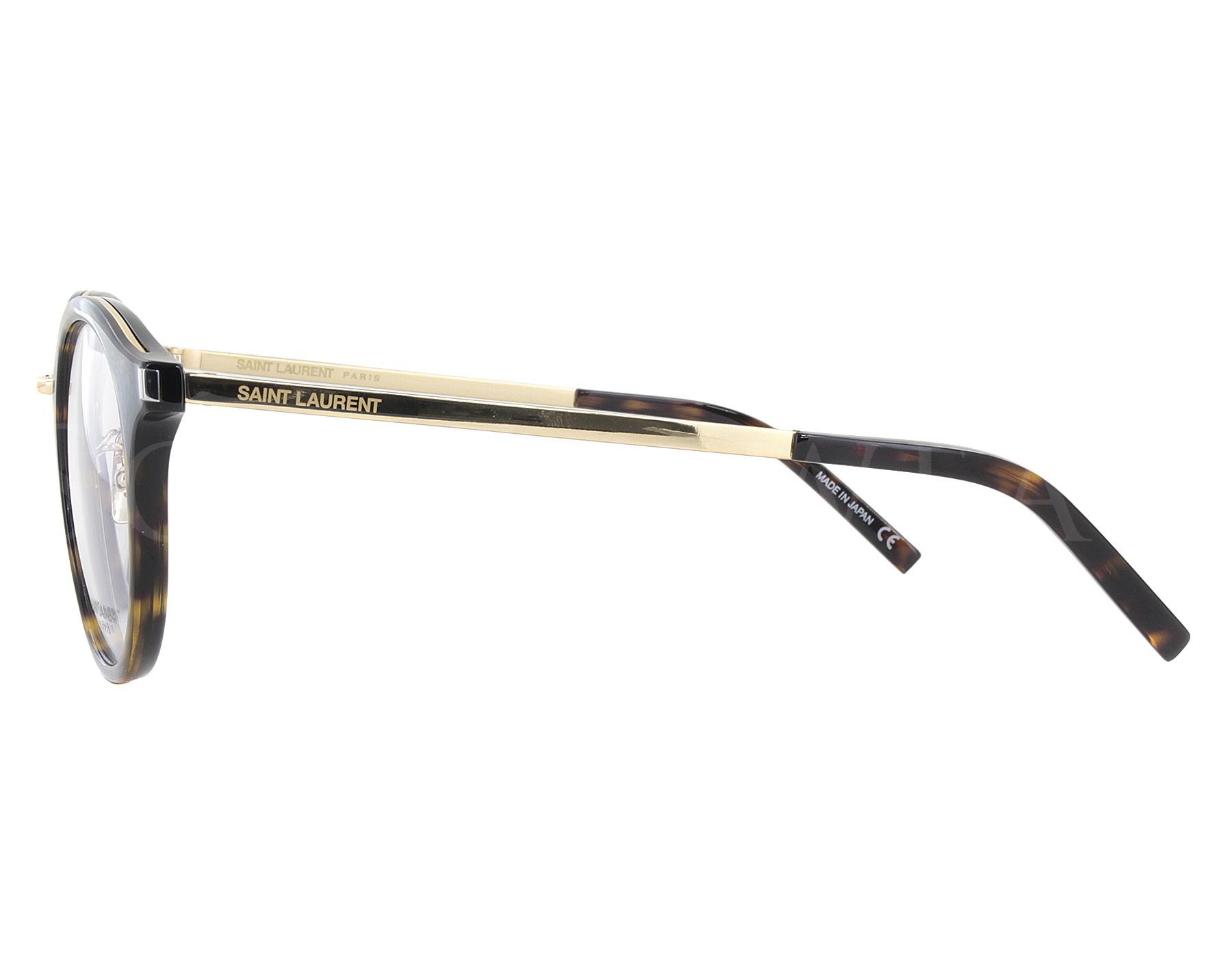 a5eaadb85a NEW Yves Saint Laurent SL91 007 49mm Gold Optical Eyeglasses Frames ...