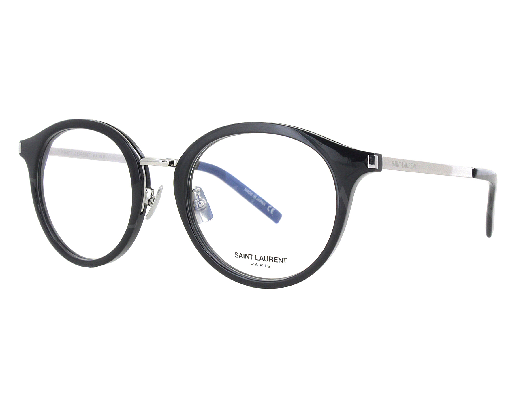 38744e8923 Details about NEW Yves Saint Laurent SL91 001 49mm Silver Optical  Eyeglasses Frames