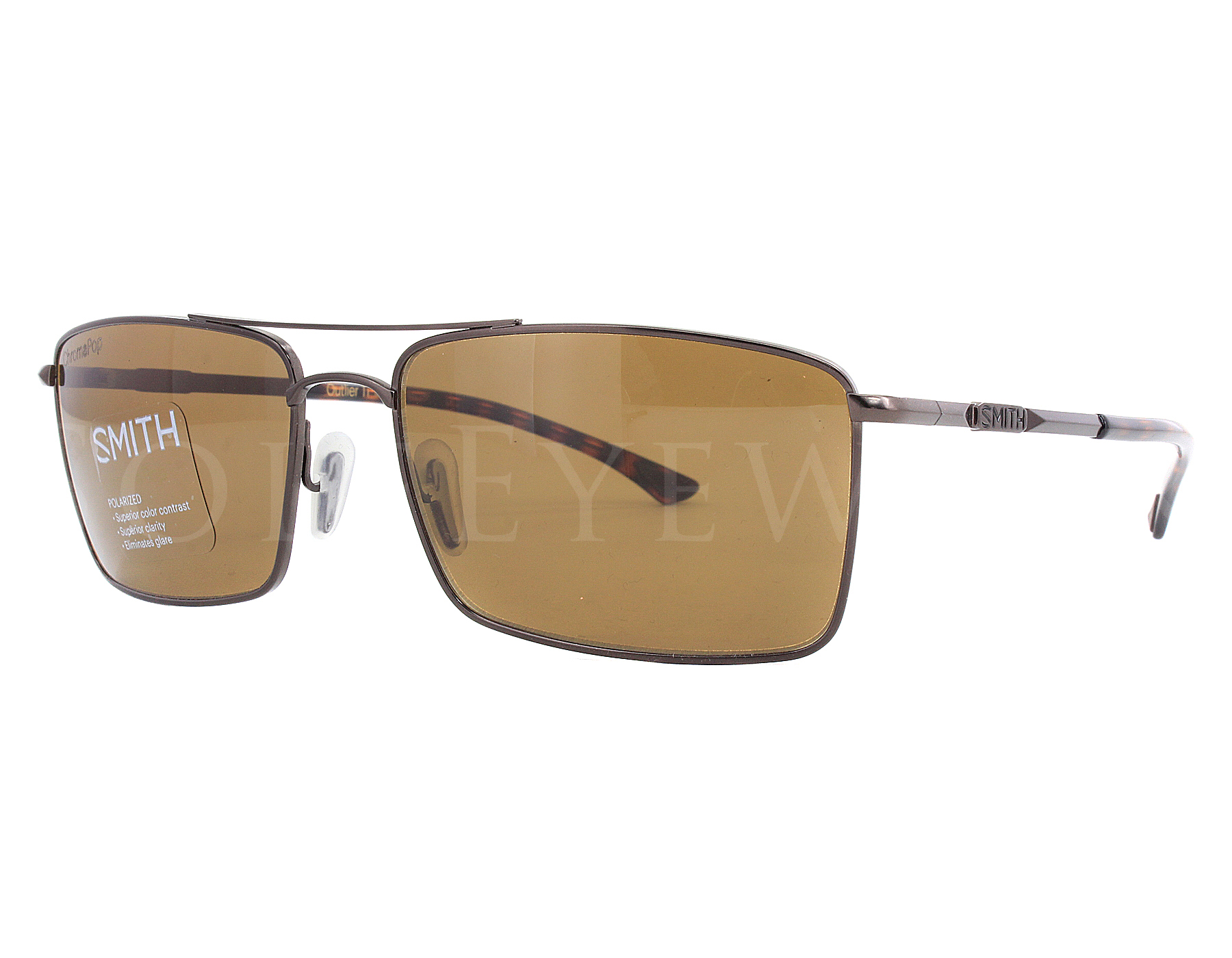 24fb1f0131 Details about NEW Smith Optics Outlier TI Matte Brown   ChromaPop Polarized  Brown Sunglasses