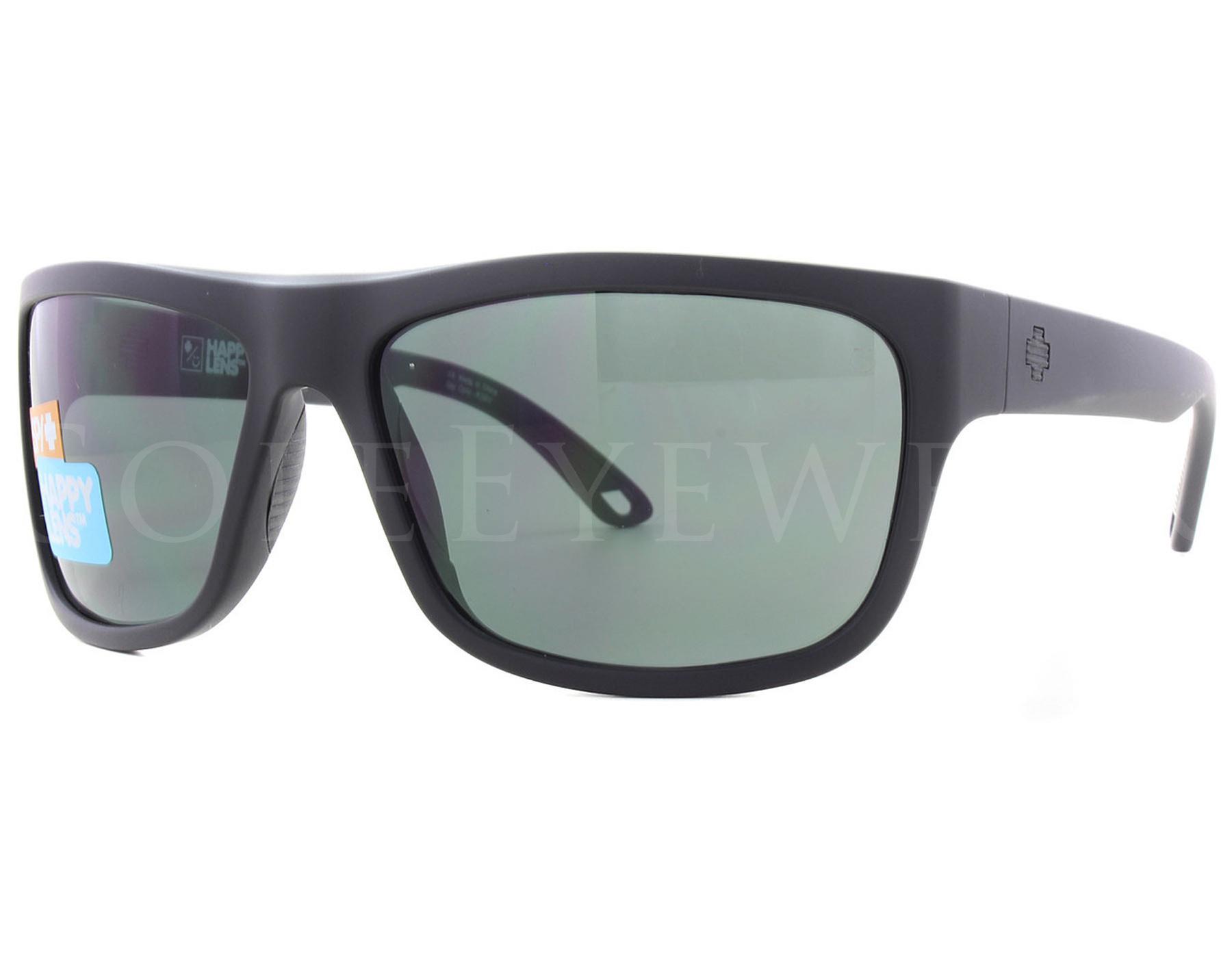92752b4fdf Details about NEW SPY OPTICS Angler Matte Black Happy Grey 673237374863  Sunglasses