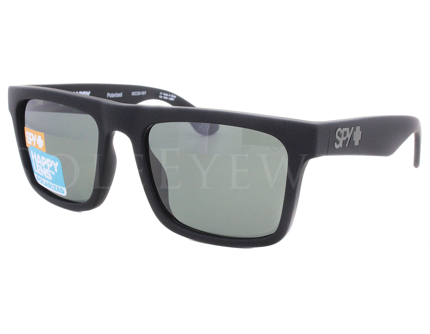 908b760499 Details about NEW Spy Optics Atlas Soft Matte Blk   Hap Gr Green Polar  673371973864 Sunglasses