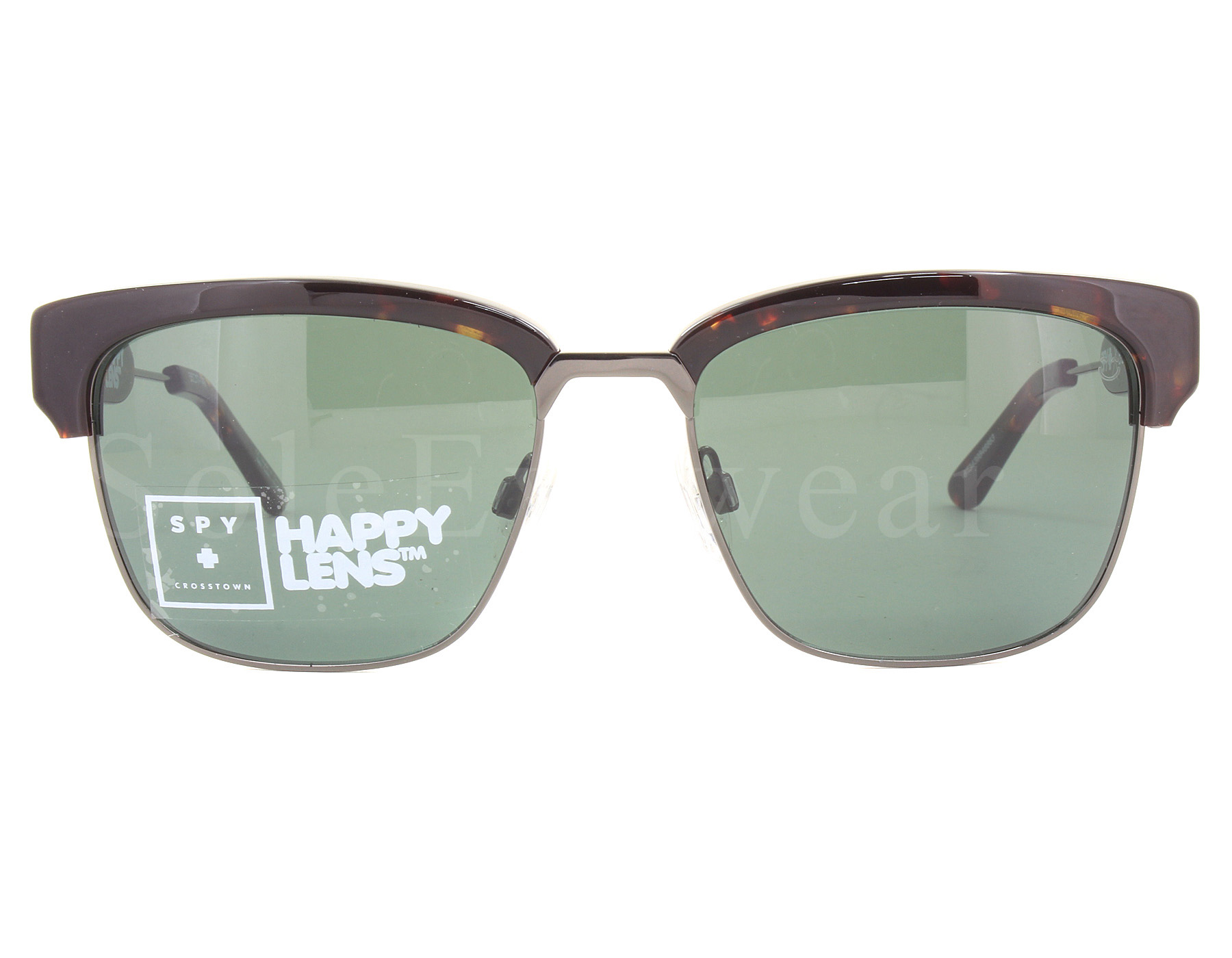 63ab3848d2 NEW Spy Optics Bellows 673439846863 Dark Tort Gun   Happy Grey Green ...