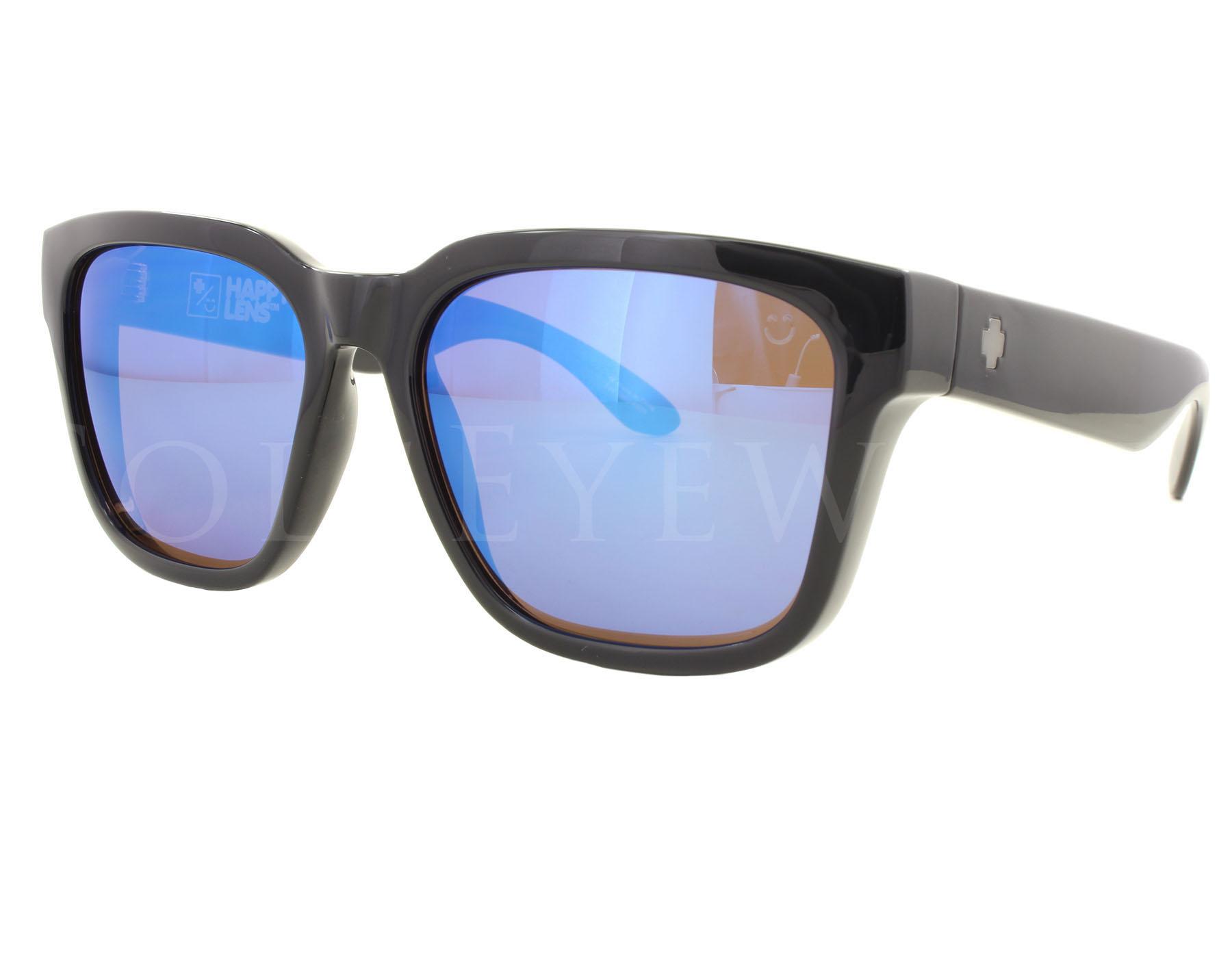 dcc795a2901 Details about NEW SPY OPTICS Bowie Black Happy Bronze Polarized Blue  673247038280 Sunglasses