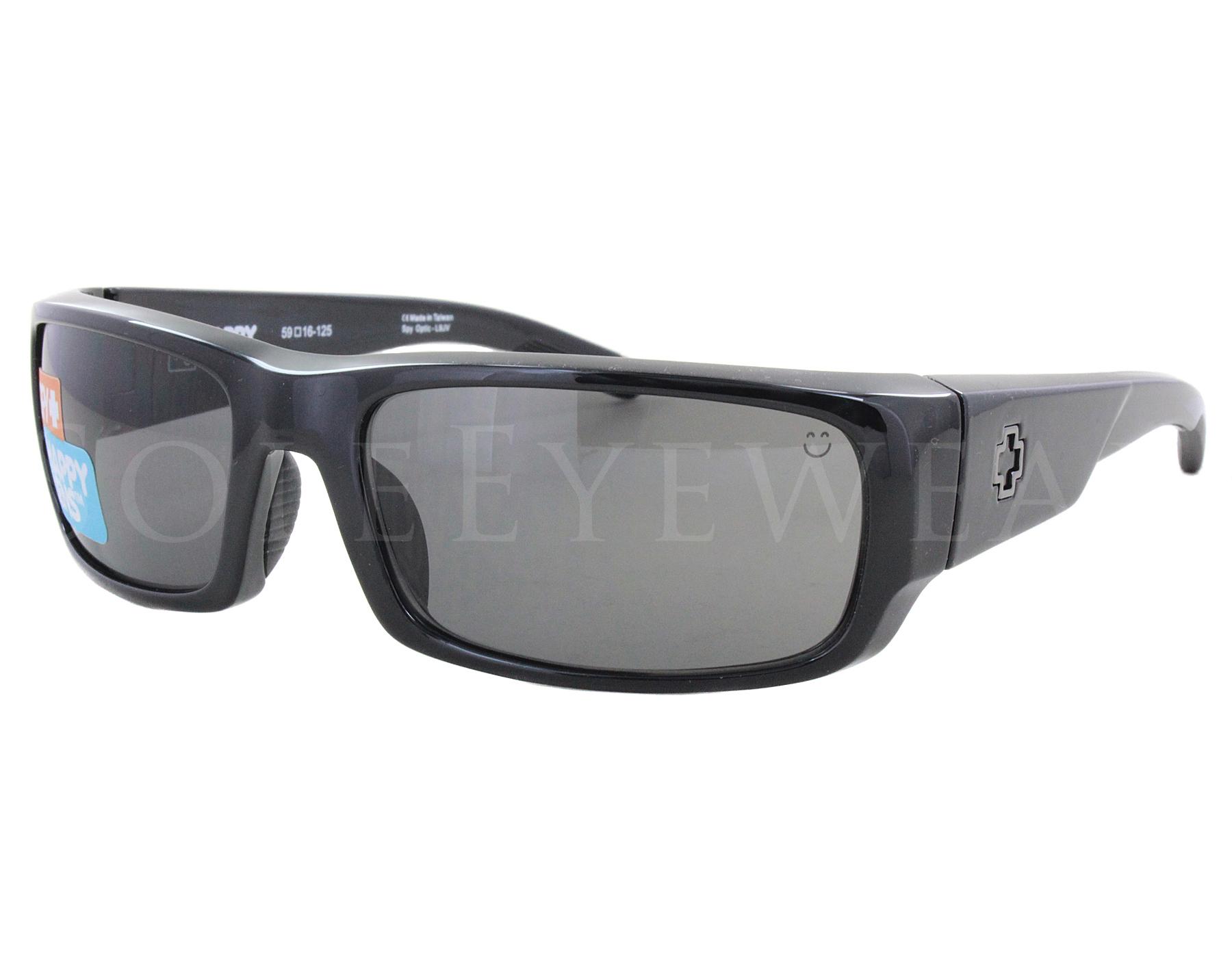 a2131efd843 Details about NEW Spy Optics Caliber 673374038863 Black   Happy Grey Green  Sunglasses