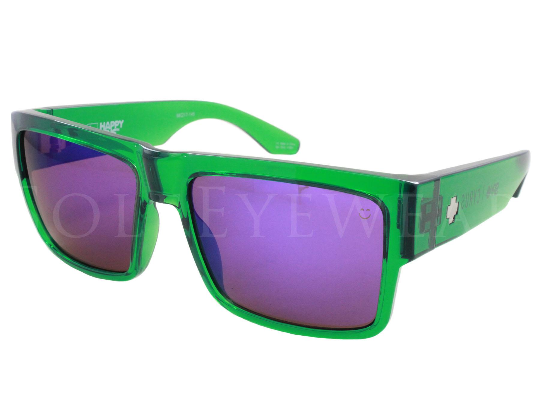 Spy Herren Sonnenbrille Cyrus Trans Green w20w4L