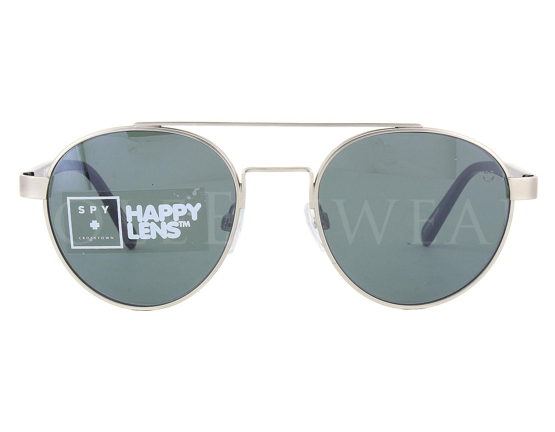 NEW Spy DECO-673308585352 Matte Silver Black Sunglasses