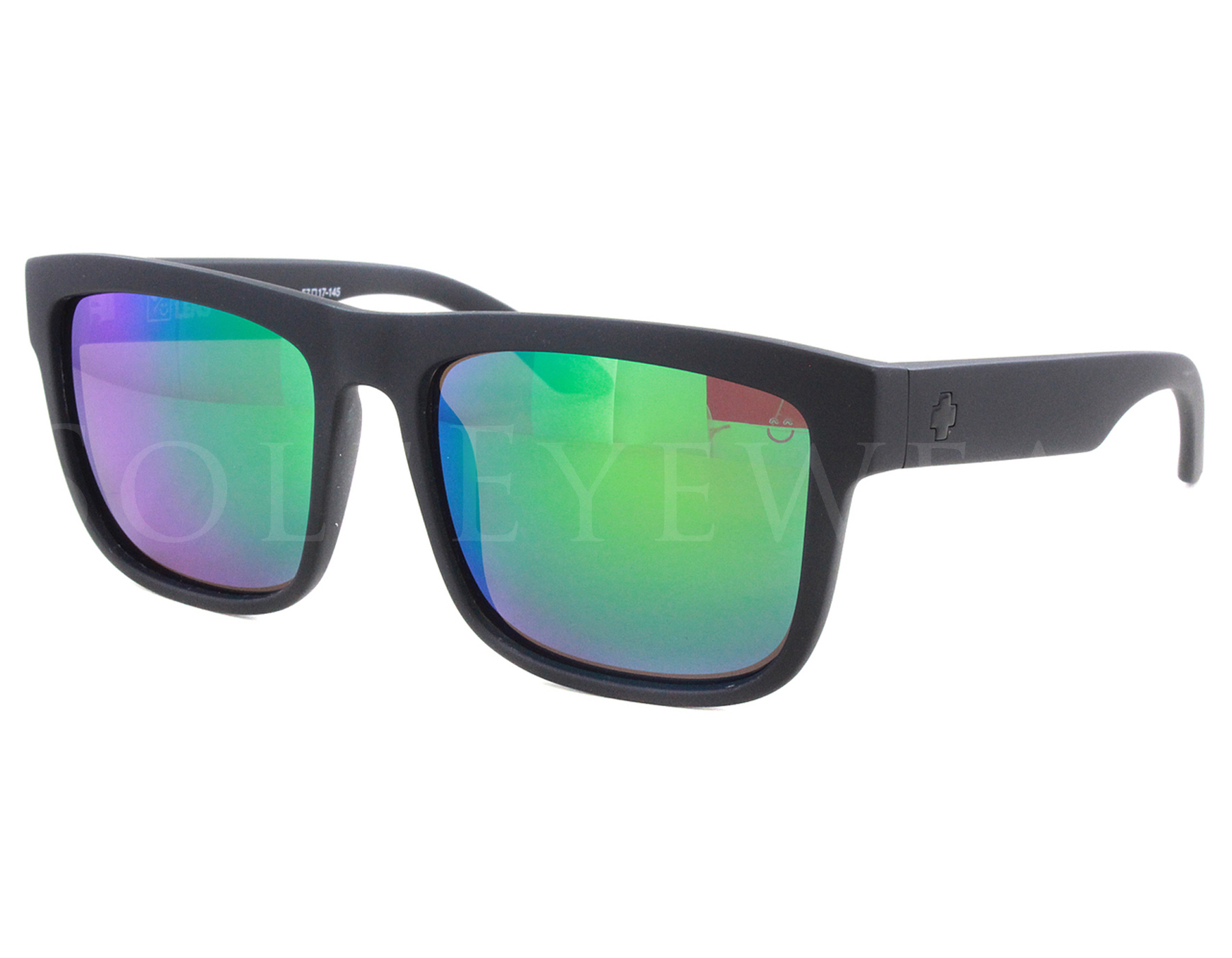 Details about NEW SPY OPTICS Discord Matte Black   Happy Grey Green  673119374861 Sunglasses 1748d6a62b
