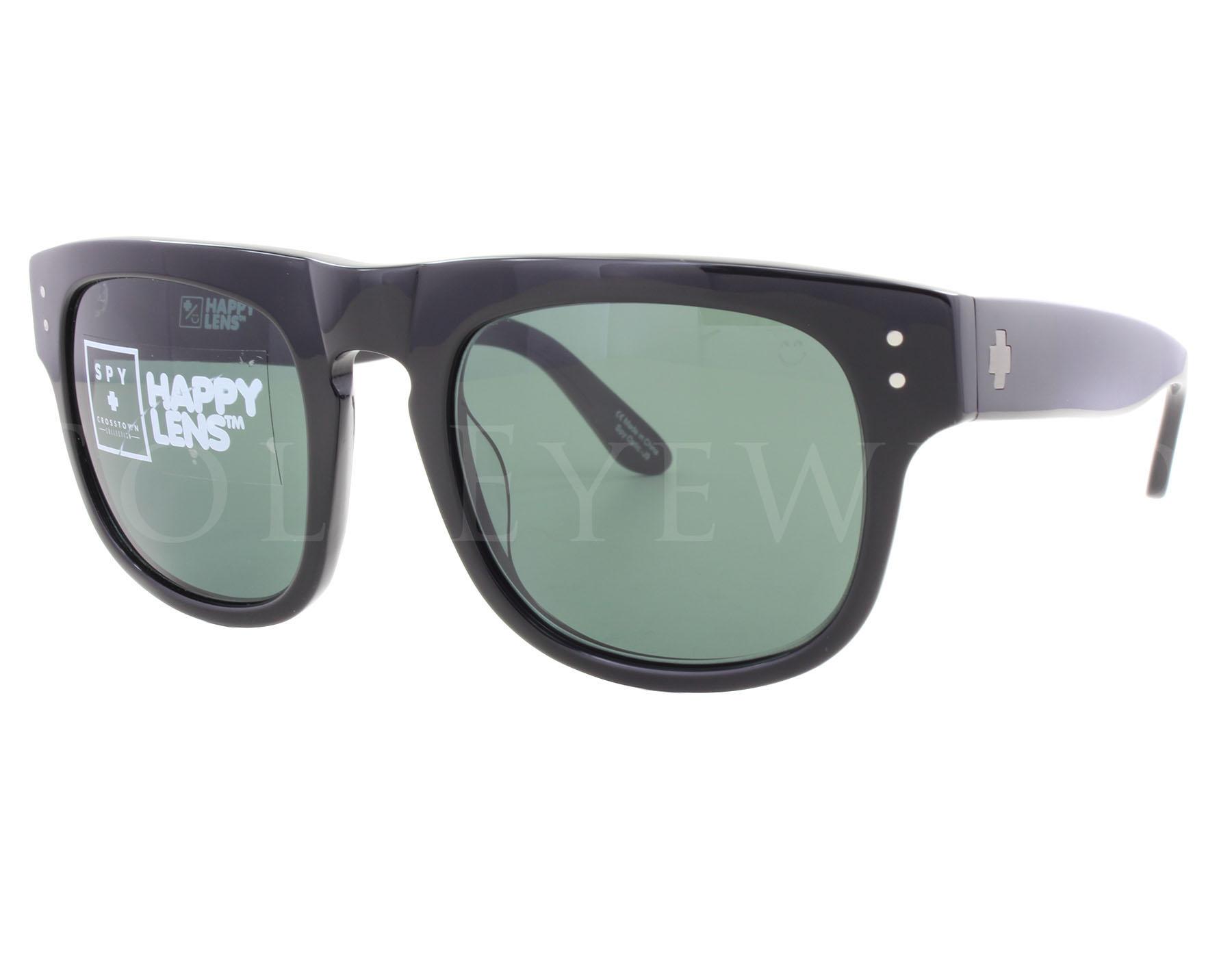 11d23077a3cad Details about NEW Spy Optics Kensington Black   Happy Grey Green  673189038863 Sunglasses