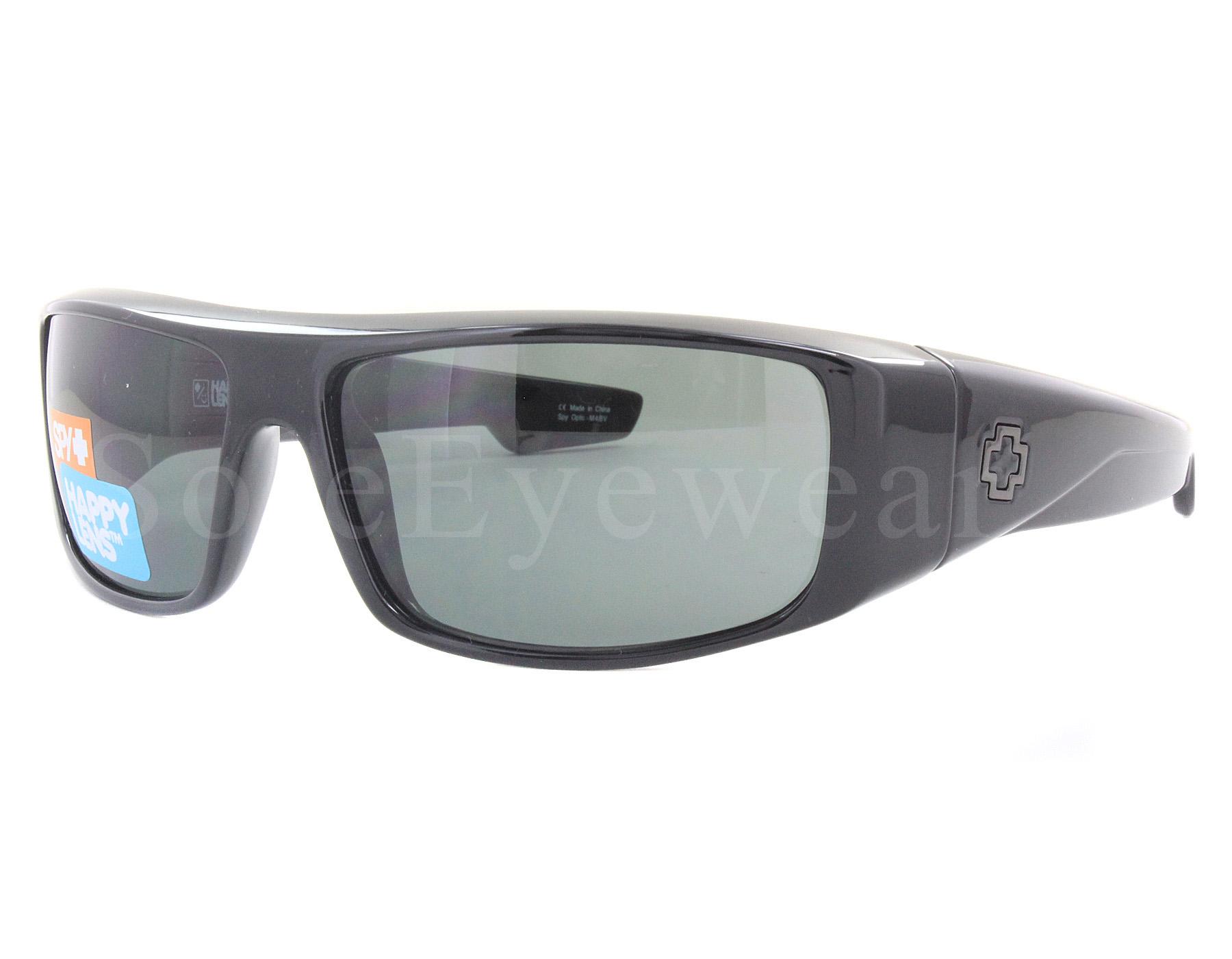 5c87f501285 Details about NEW Spy Optics Logan 670939038864 Black   Happy Gray Green  Polarized Sunglasses