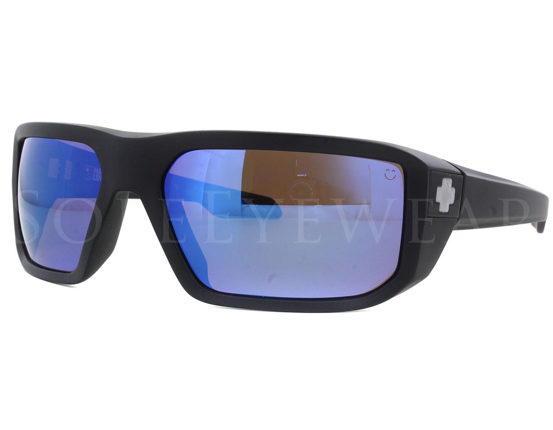 092d22877f Details about NEW Spy Optics Mccoy 673012374280 Matte Black   Hap Bronze  Polar Blue Sunglasses