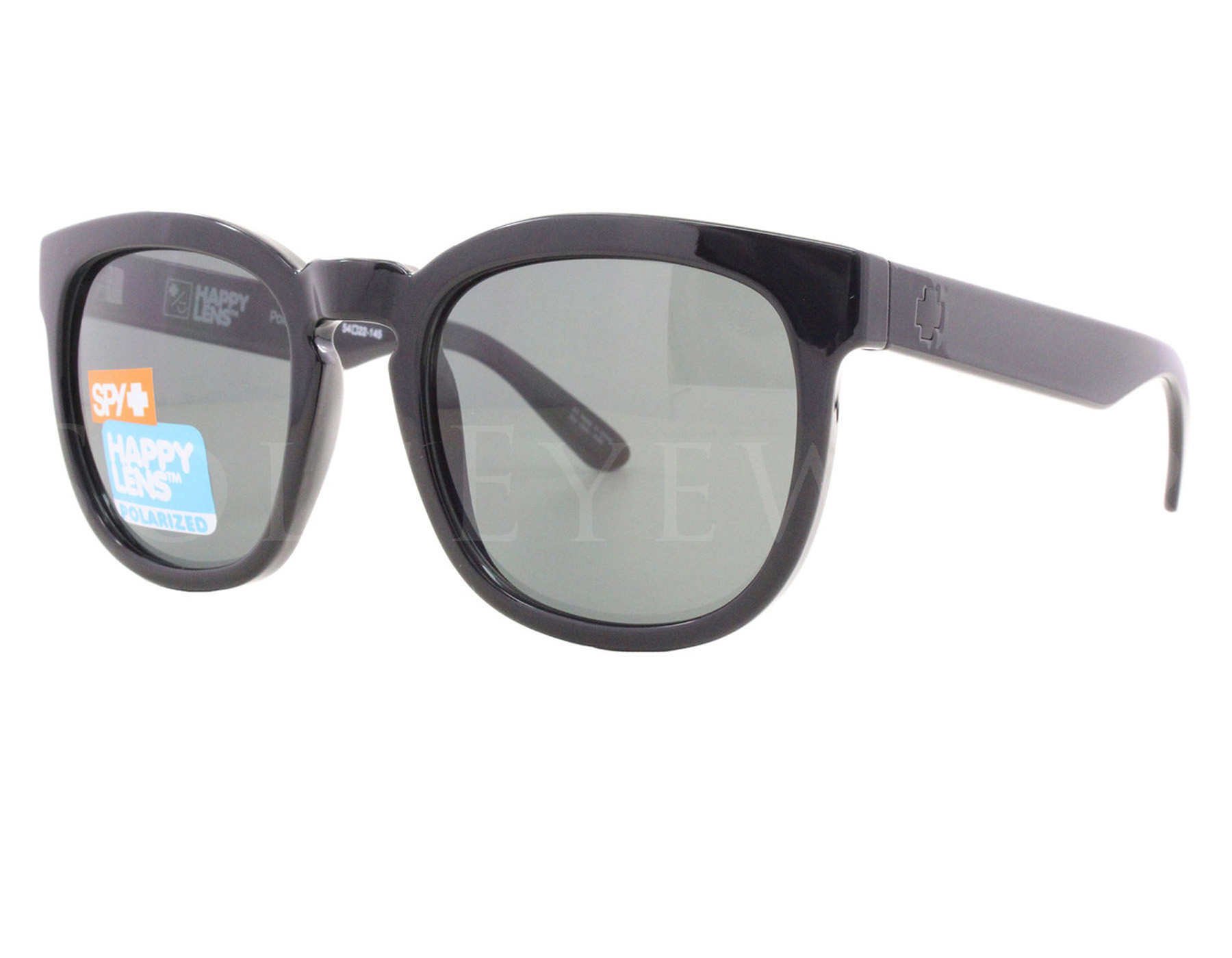 d329e1862d5 Details about NEW Spy Optics Quinn 673179038864 Black   Happy Grey Green  Polarized Sunglasses