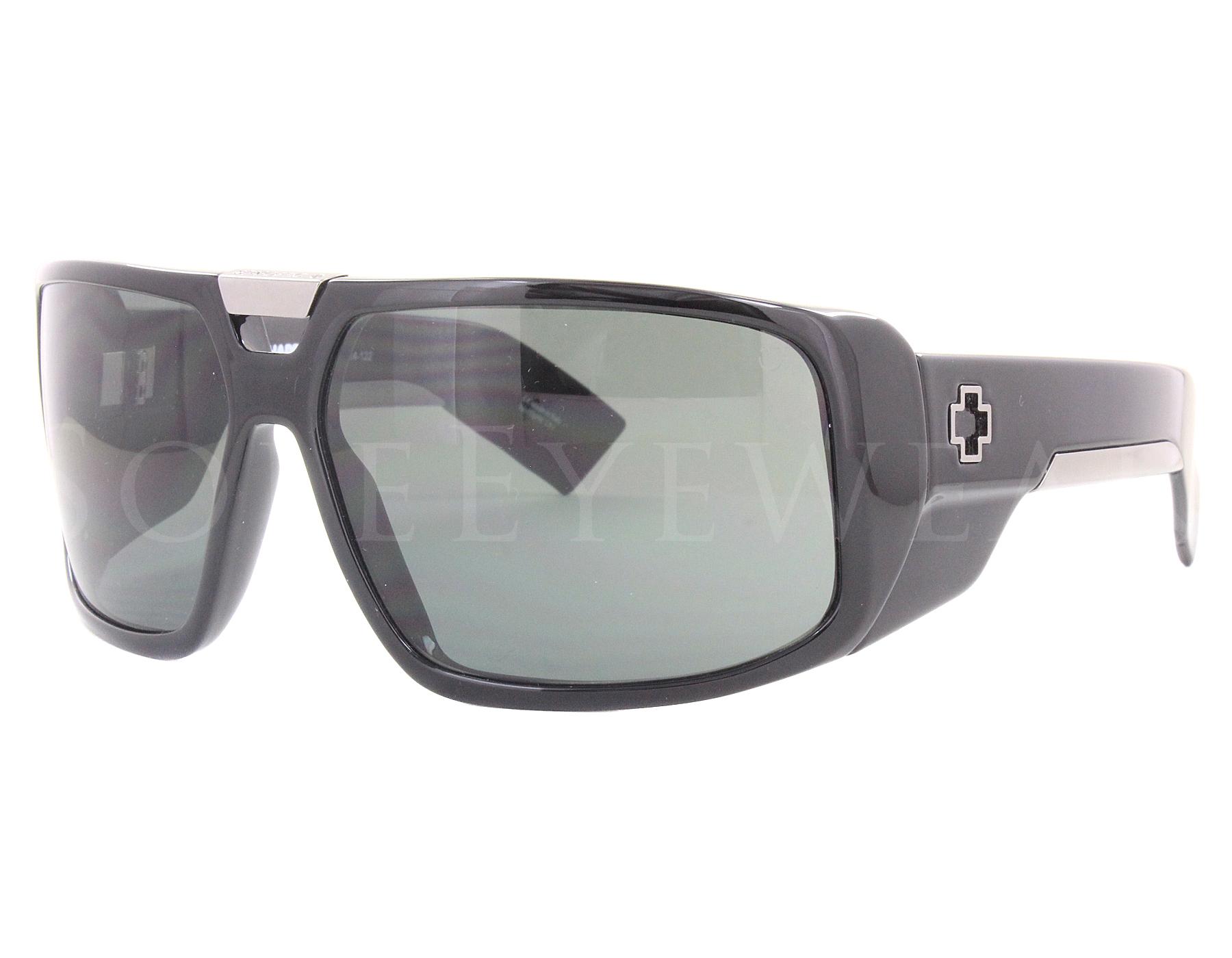 4180b3ce95 Details about NEW SPY OPTICS Touring Black   Happy Gray Green 670795038863  Sunglasses