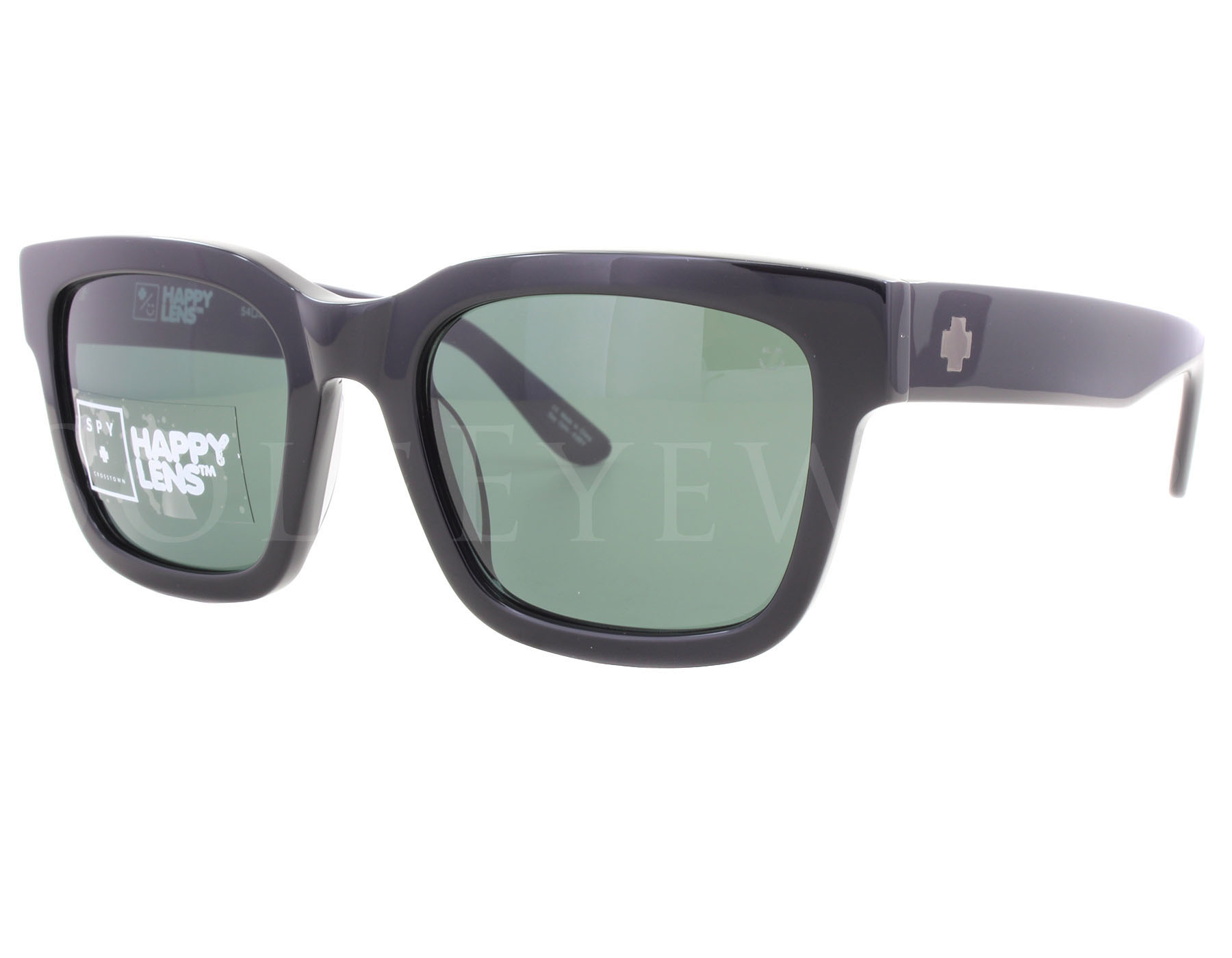 f66dcfa8e9 Details about NEW Spy Optics Trancas Black   Happy Grey Green 673240038863  Sunglasses