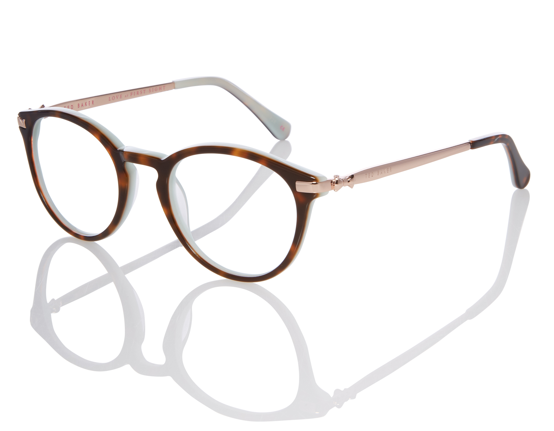 ae6adf941e Details about NEW Ted Baker Val TB 9132 521 49mm Tortoise Mint Optical Eyeglasses  Frames