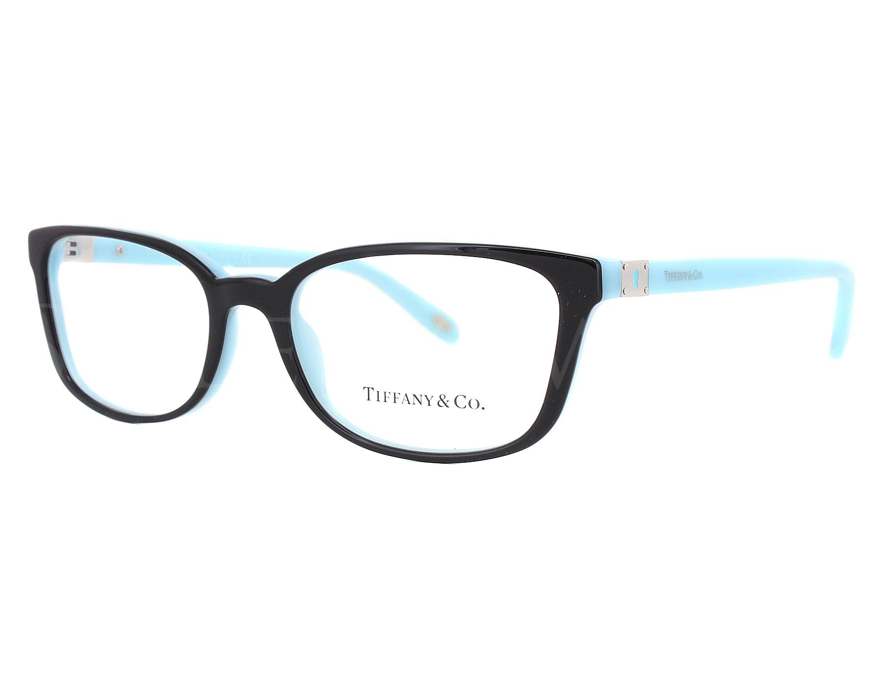 b89d5b12c202 New Tiffany Tf2094 8055 52mm Black Blue Optical Eyeglasses Frames