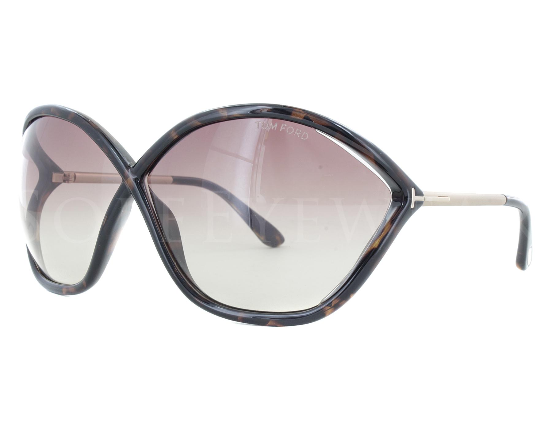 6c782aadc035 Details about NEW Tom Ford FT0529-52Z Bella Dark Havana   Violet Gradient  Sunglasses (NO CASE)