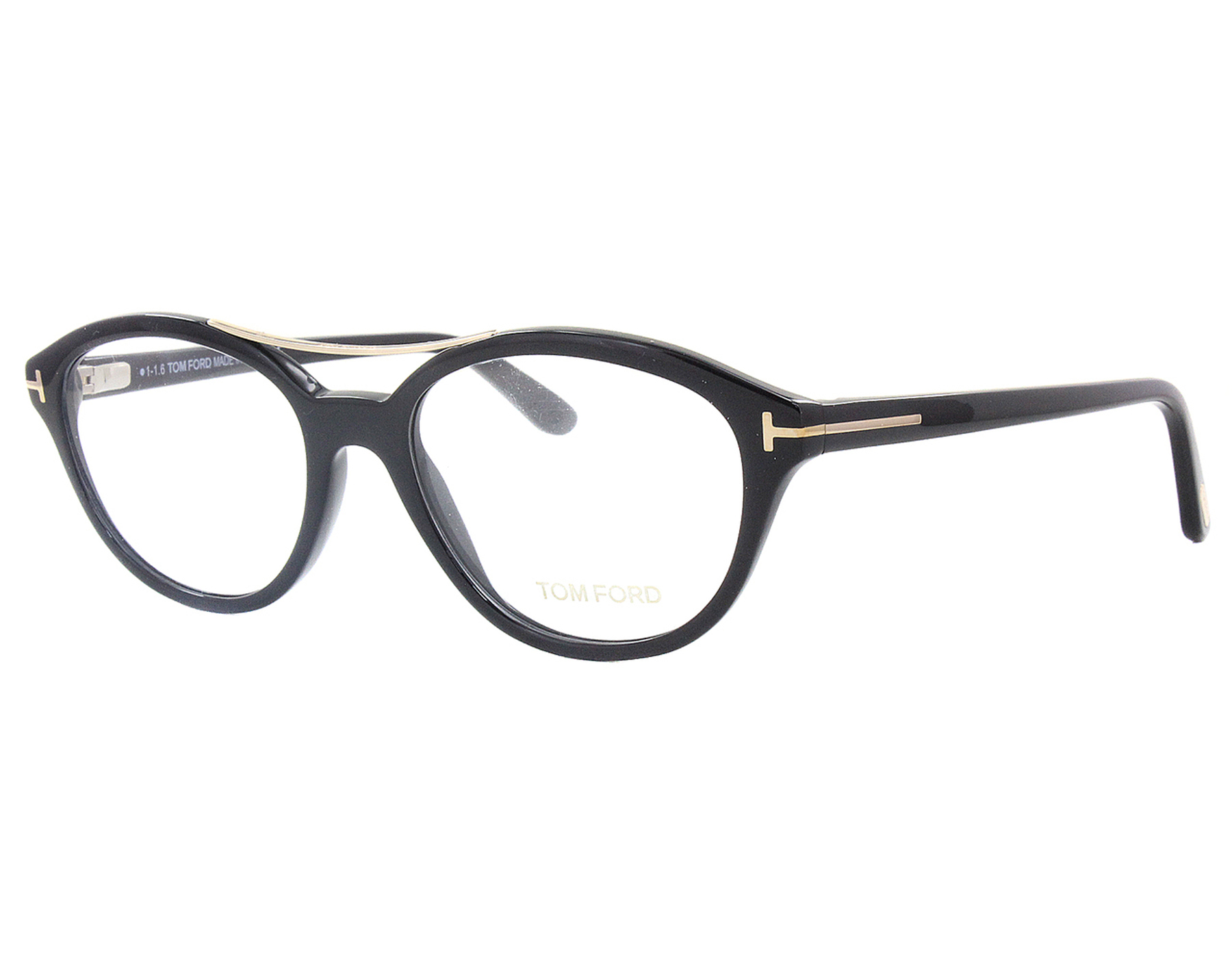 33144aa362 Details about NEW Tom Ford FT5412 001 52mm Black Optical Eyeglasses Frames